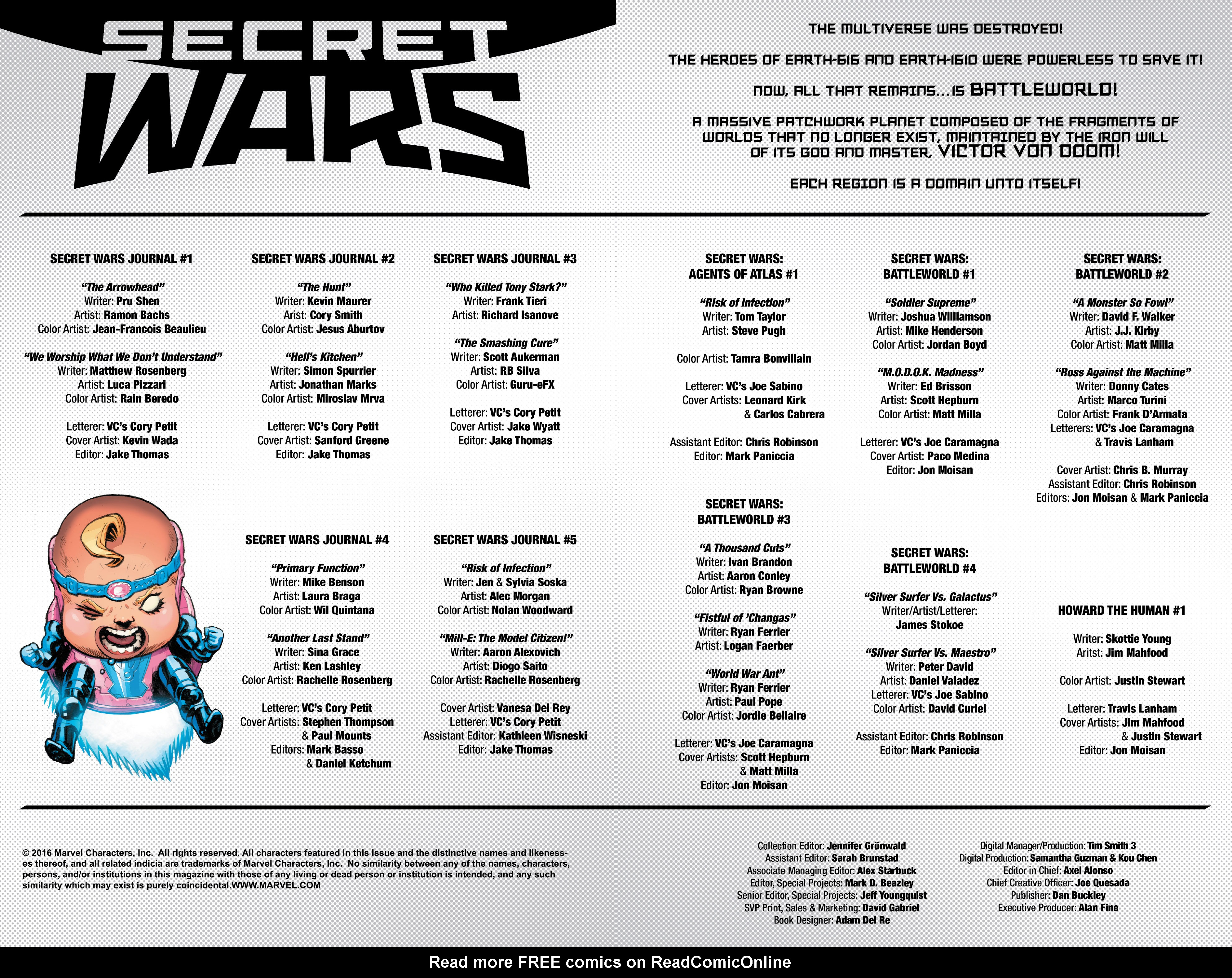 Read online Secret Wars Journal/Battleworld comic -  Issue # TPB - 3