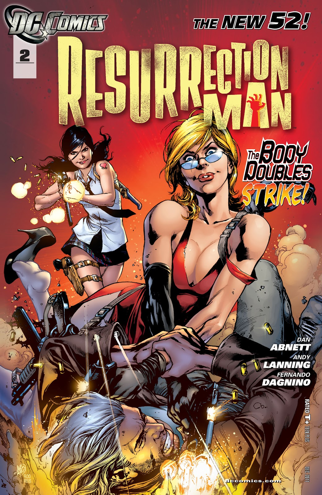 Resurrection Man (2011) 2 Page 1