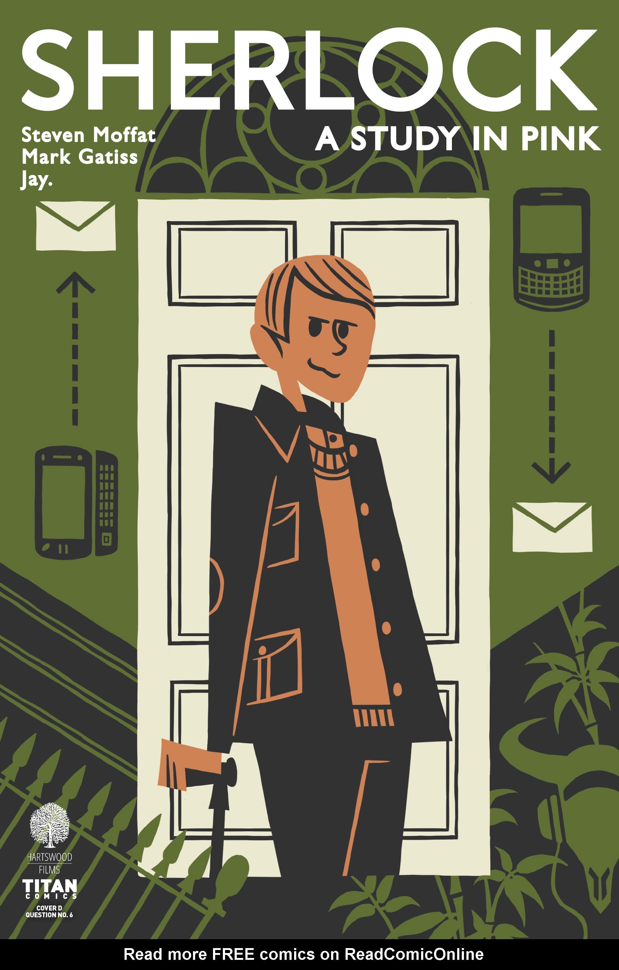 Read online Sherlock: A Study In Pink comic -  Issue #3 - 4