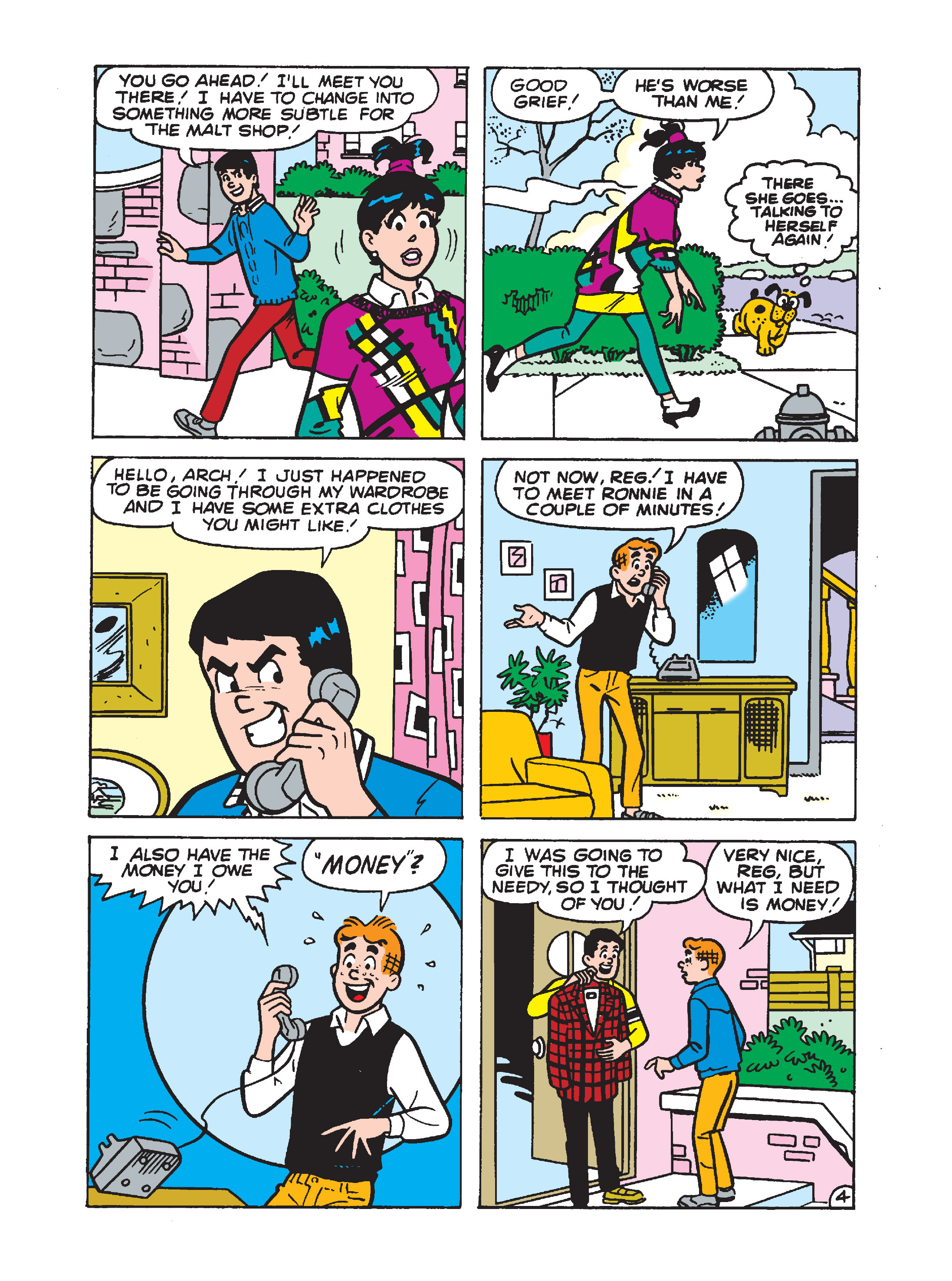 Read online Archie 1000 Page Comics Bonanza comic -  Issue #1 (Part 2) - 139