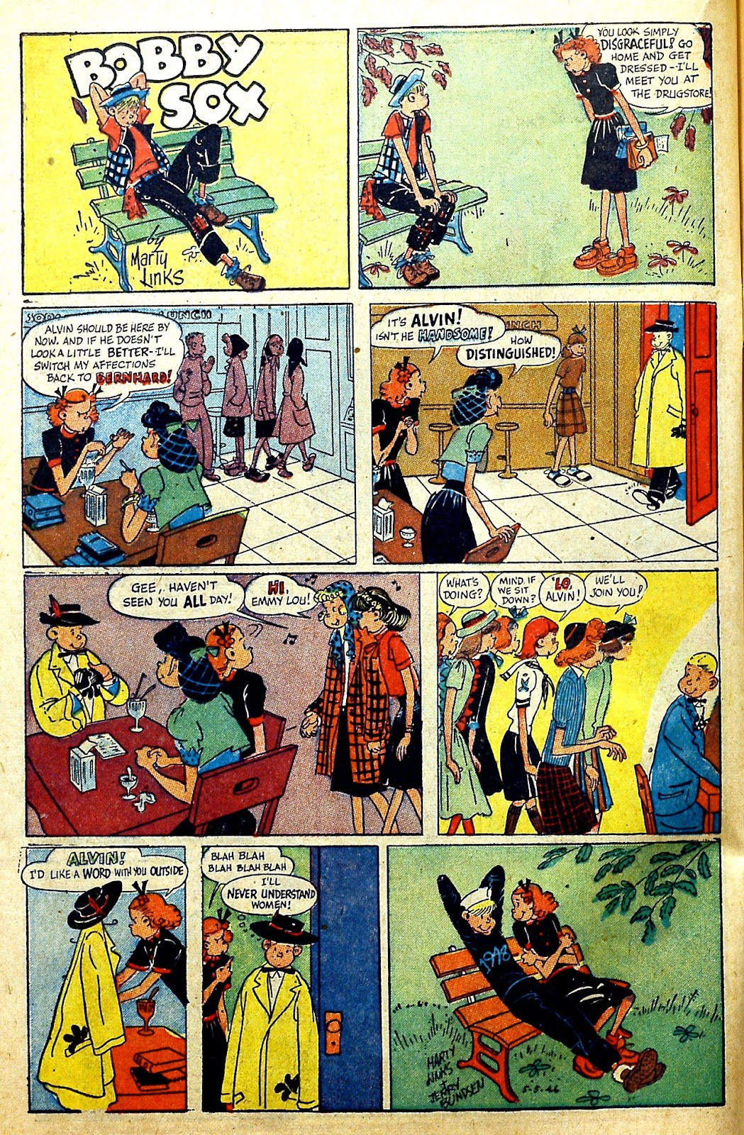 Read online Famous Funnies comic -  Issue #166 - 36