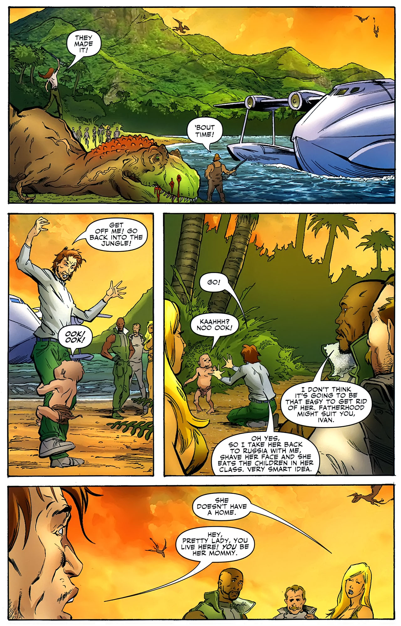 Read online Shanna the She-Devil: Survival of the Fittest comic -  Issue #4 - 17