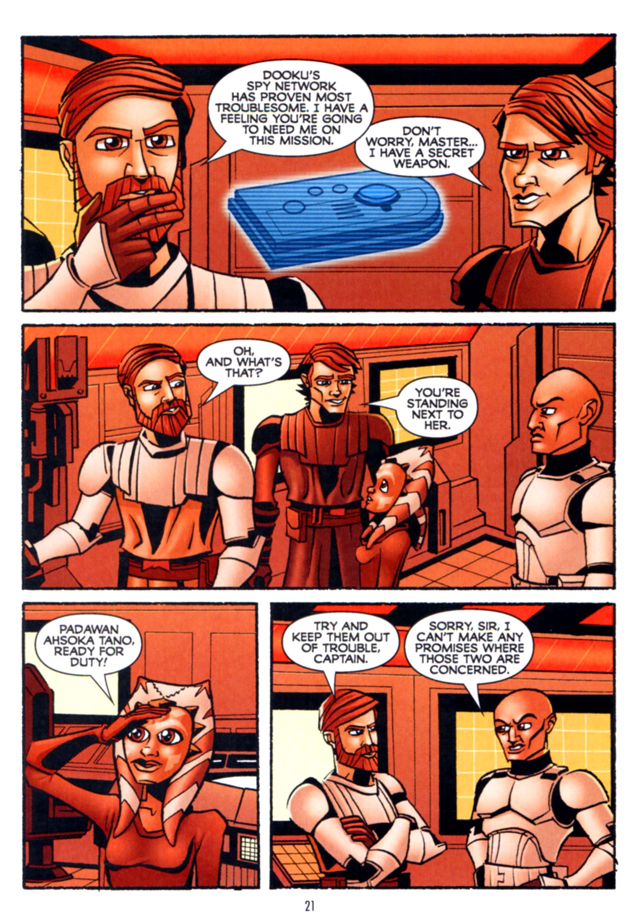 Read online Star Wars: The Clone Wars - Crash Course comic -  Issue # Full - 22