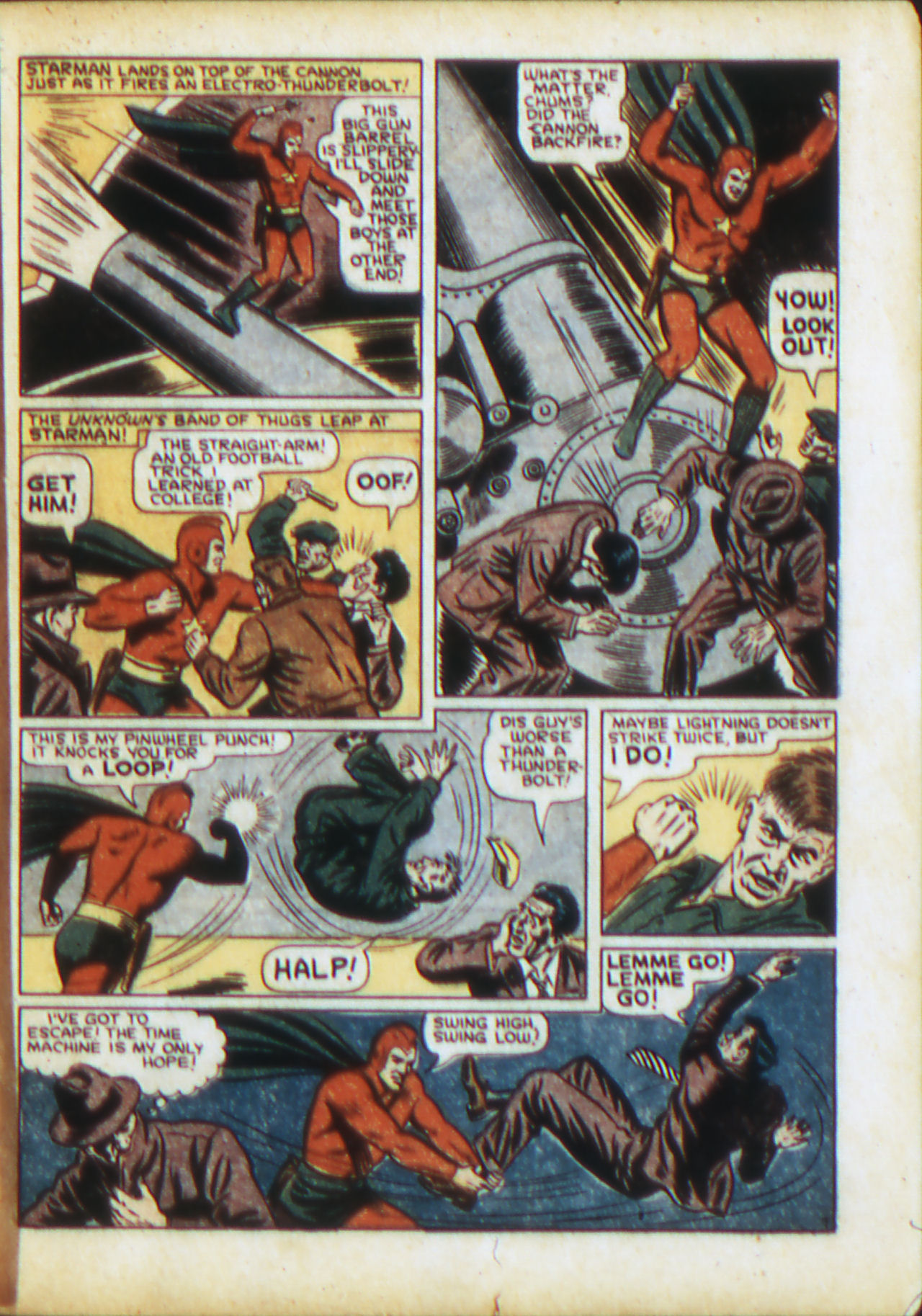 Read online Adventure Comics (1938) comic -  Issue #71 - 10