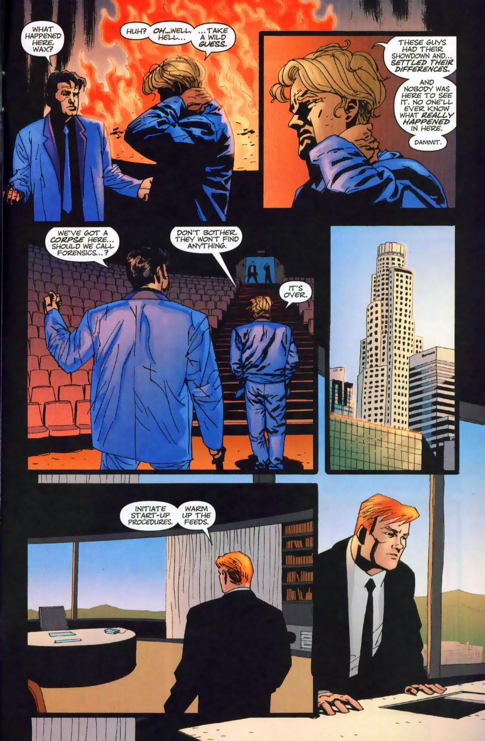 Wildcats (1999) Issue #19 #20 - English 22