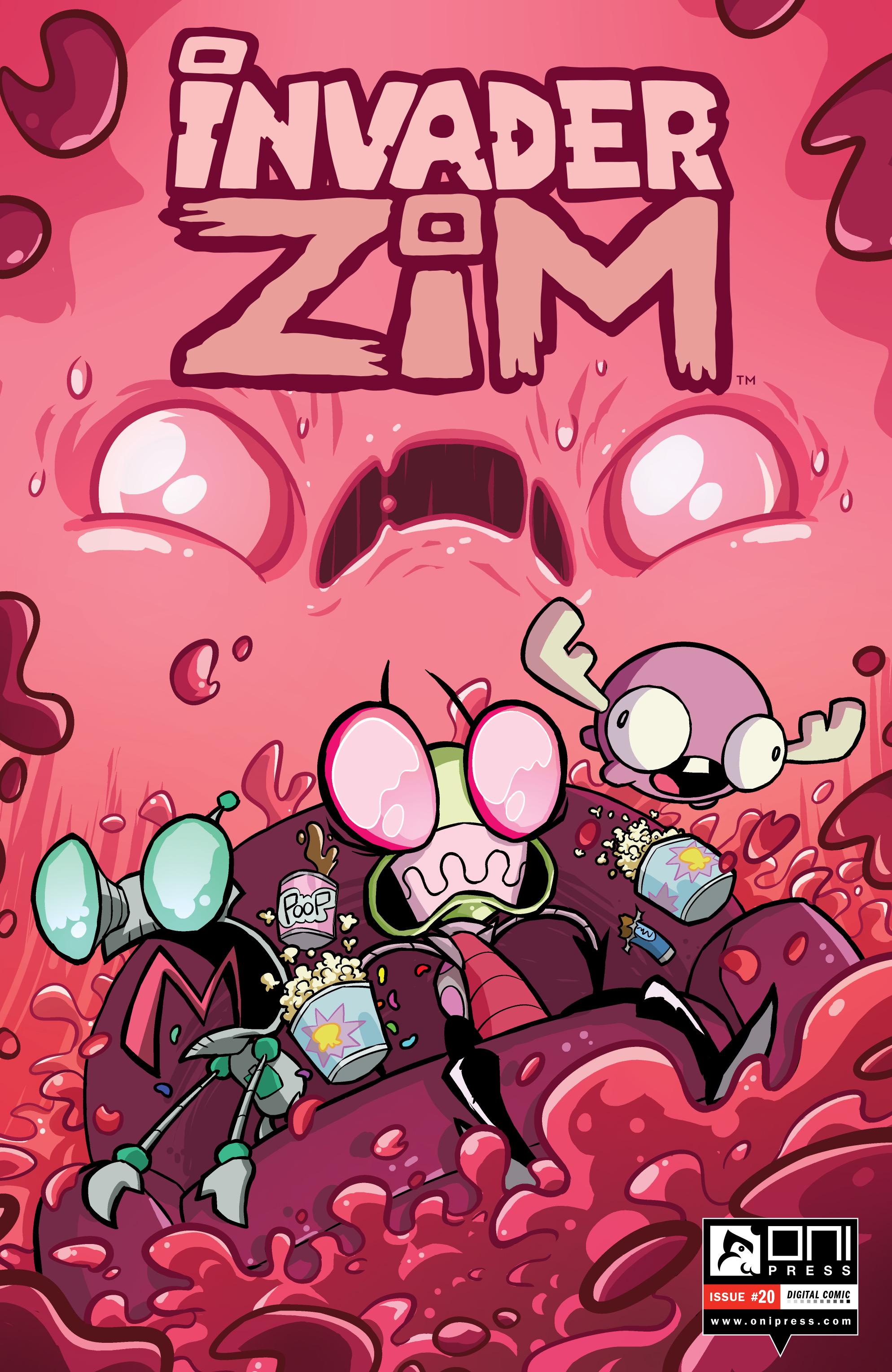 Read online Invader Zim comic -  Issue #20 - 1