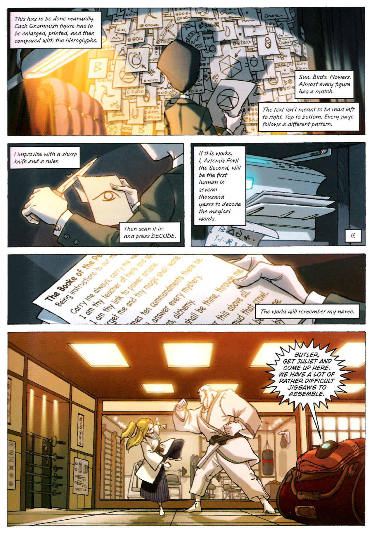 Read online Artemis Fowl: The Graphic Novel comic -  Issue #Artemis Fowl: The Graphic Novel Full - 16