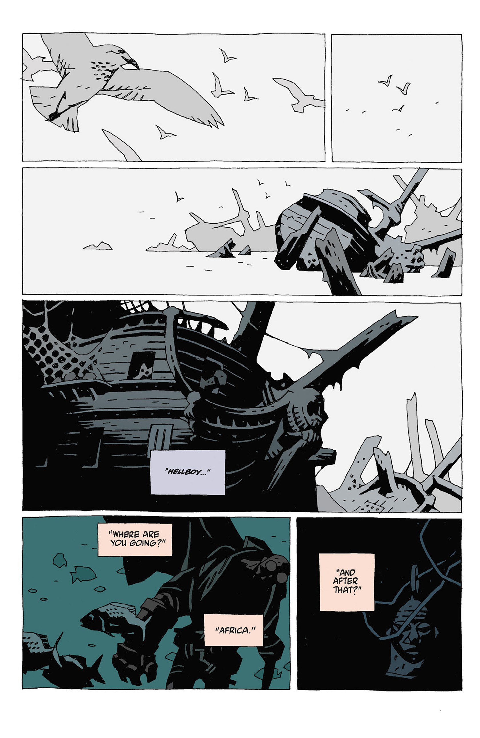 Read online Hellboy: Strange Places comic -  Issue # TPB - 68