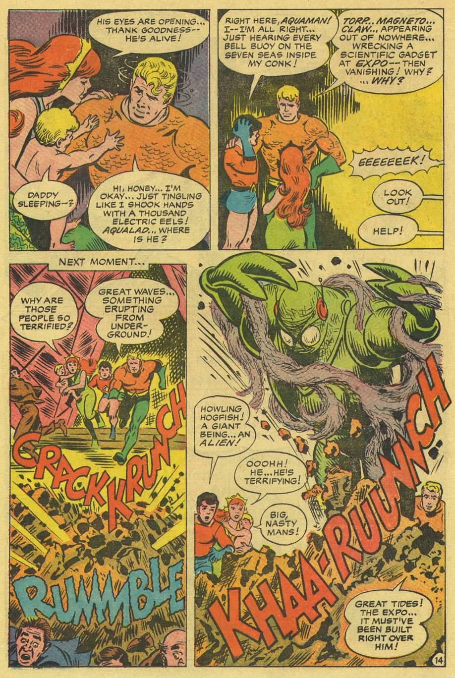 Read online Aquaman (1962) comic -  Issue #36 - 20
