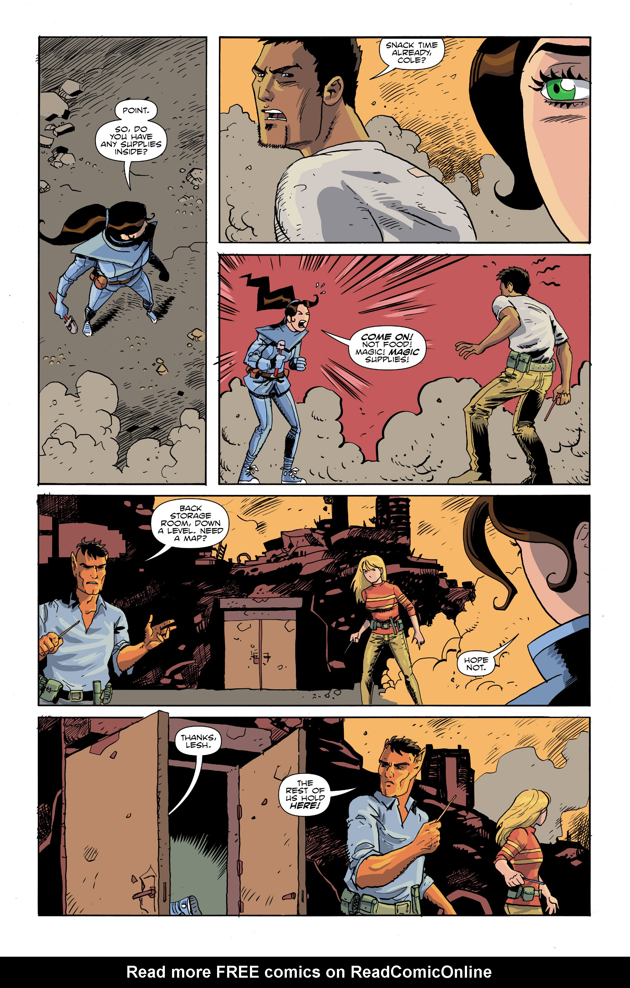 Read online Amelia Cole Versus The End of Everything comic -  Issue #26 - 6