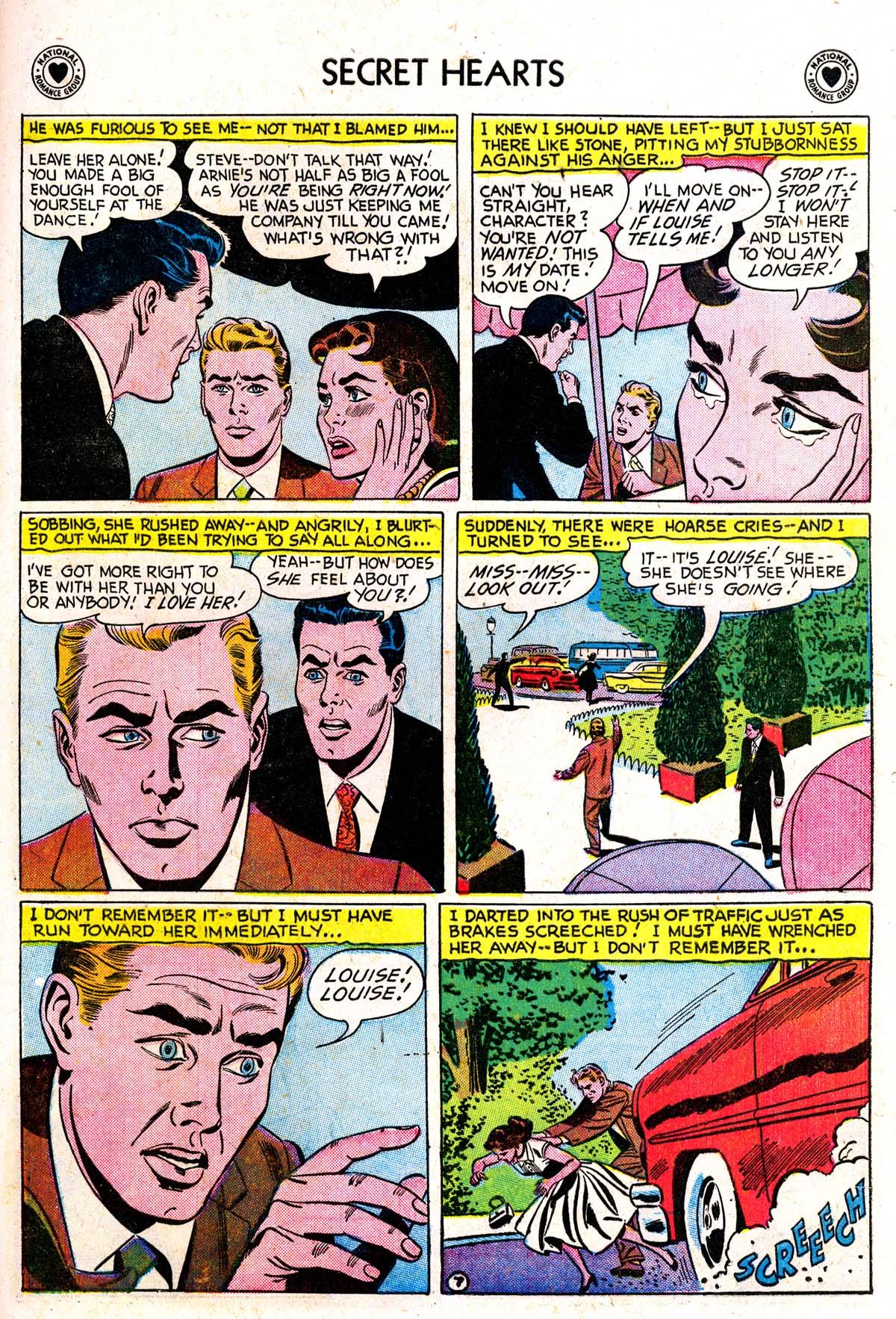 Read online Secret Hearts comic -  Issue #42 - 33
