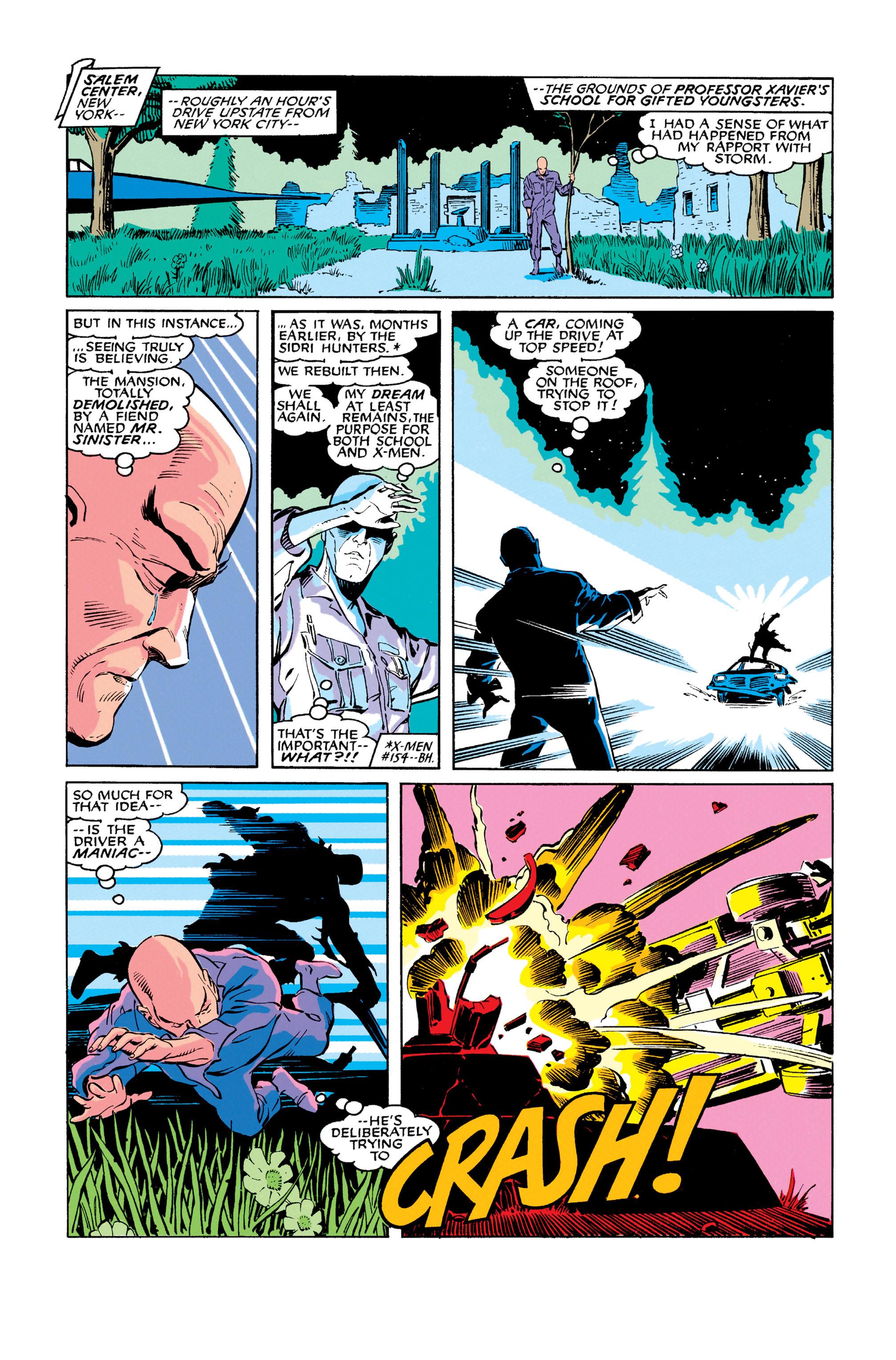 Read online Uncanny X-Men (1963) comic -  Issue #278 - 22