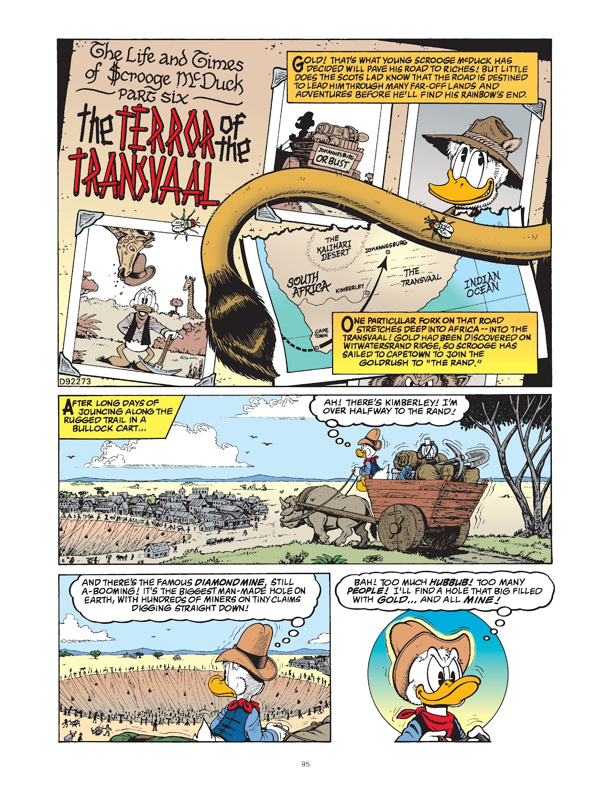 Read online The Complete Life and Times of Scrooge McDuck comic -  Issue # TPB 1 (Part 1) - 97
