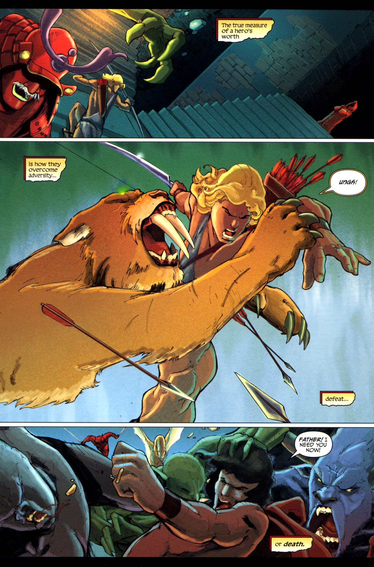 Read online Wrath of the Titans comic -  Issue #3 - 15