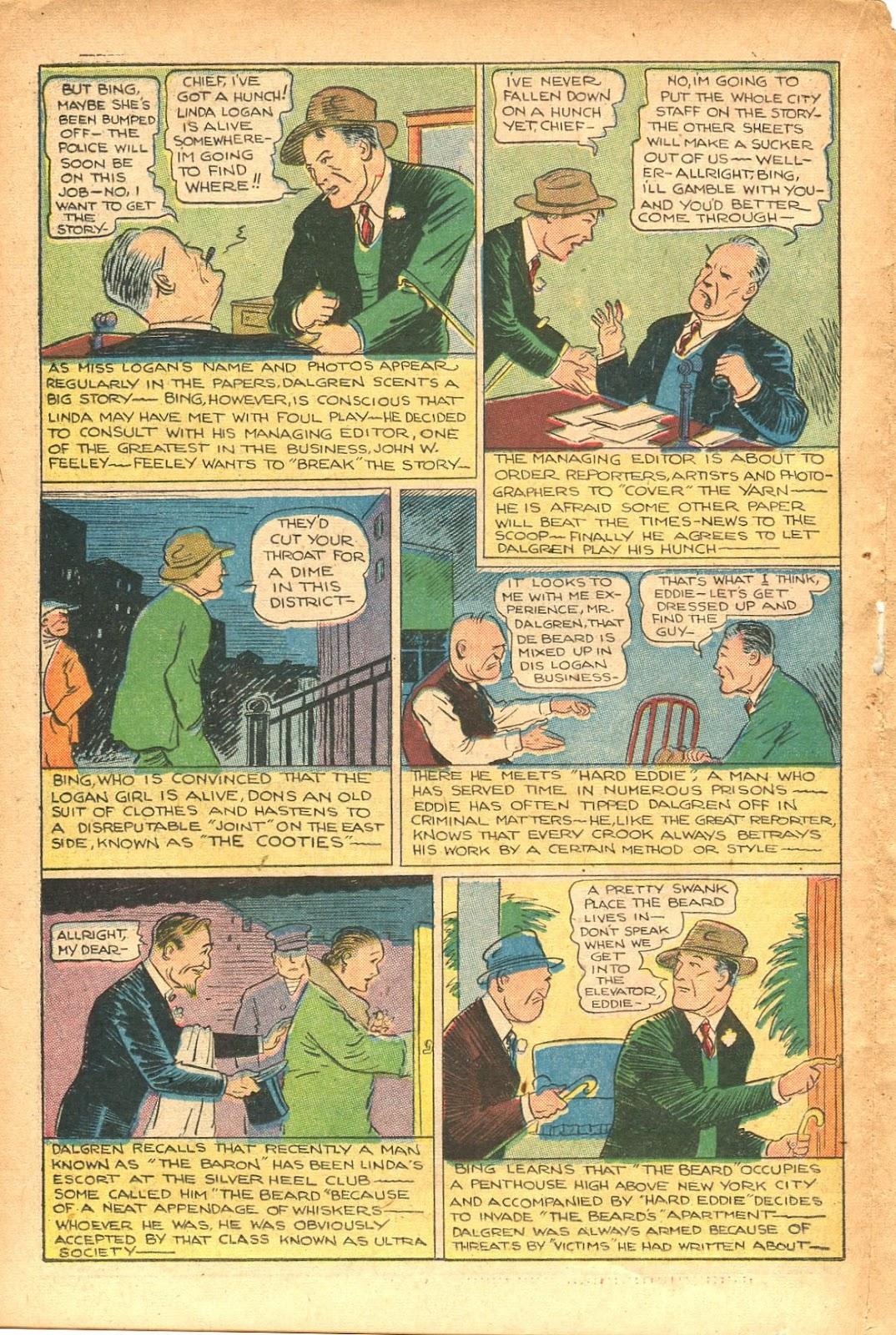 Read online Super-Magician Comics comic -  Issue #35 - 34