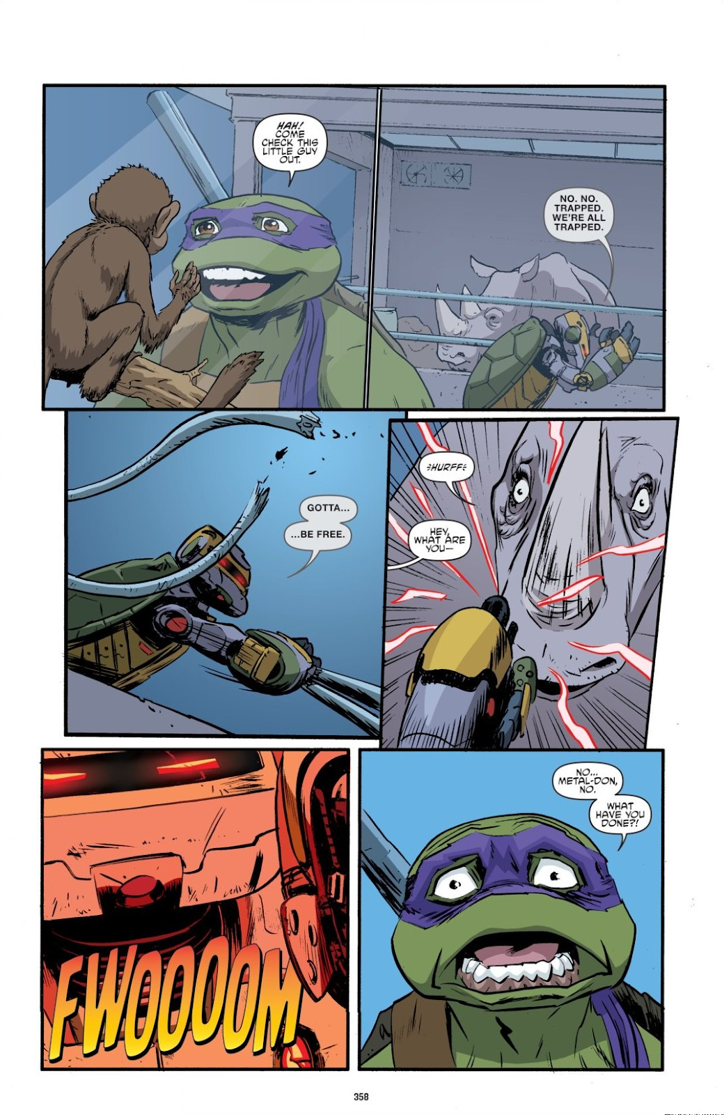 Read online Teenage Mutant Ninja Turtles: The IDW Collection comic -  Issue # TPB 8 (Part 4) - 56