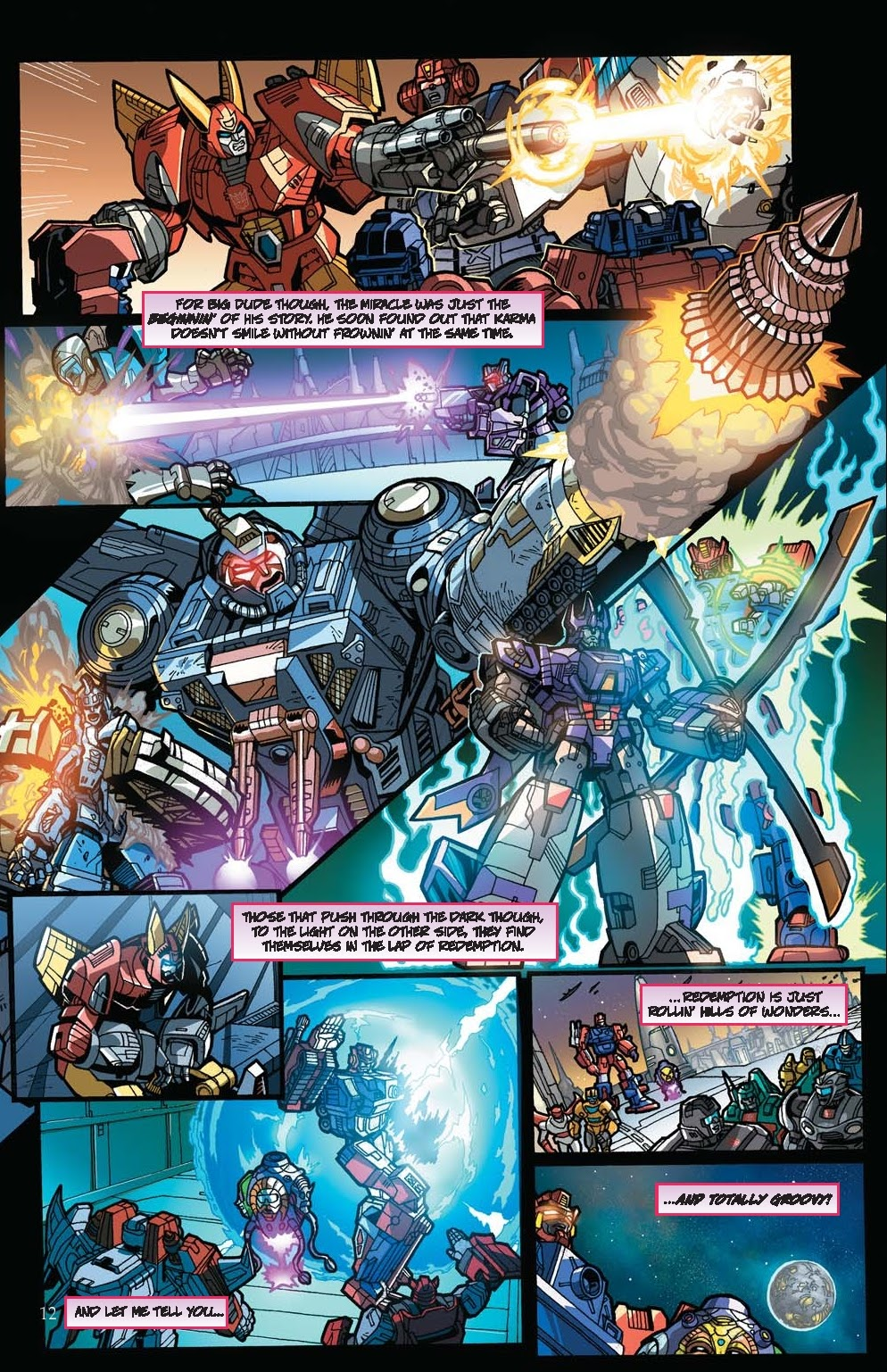 Read online Transformers: Collectors' Club comic -  Issue #31 - 12