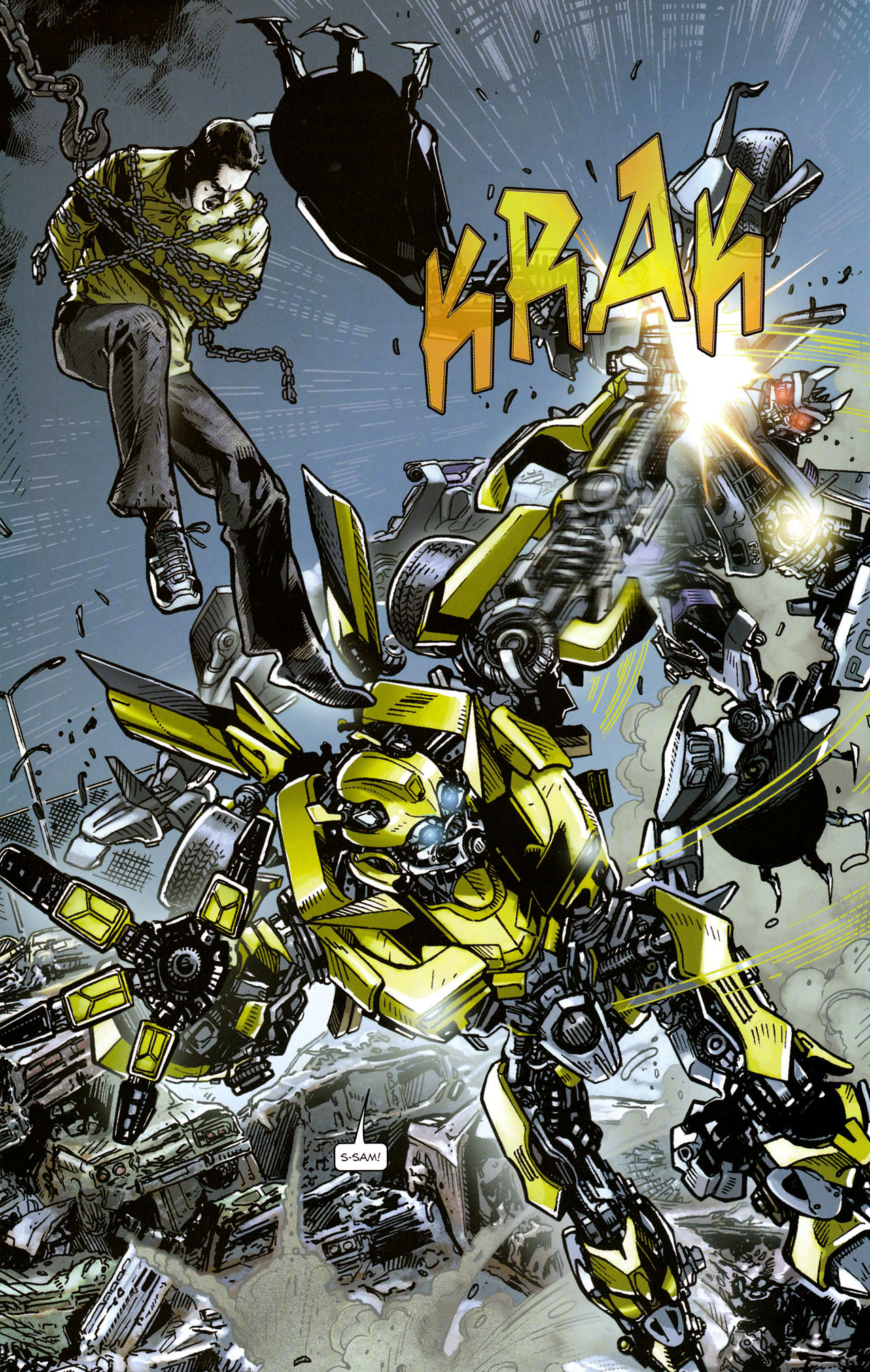 Read online Transformers: Tales of The Fallen comic -  Issue #1 - 14