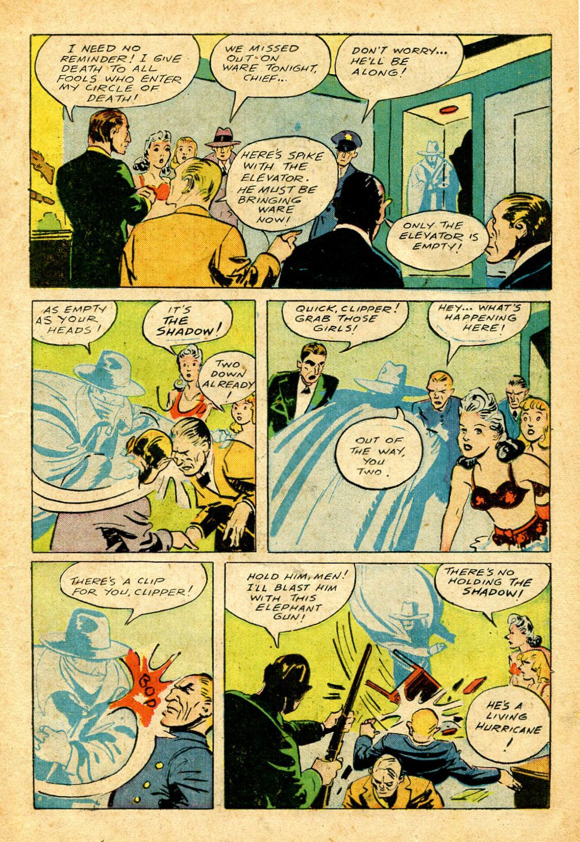 Read online Shadow Comics comic -  Issue #51 - 16