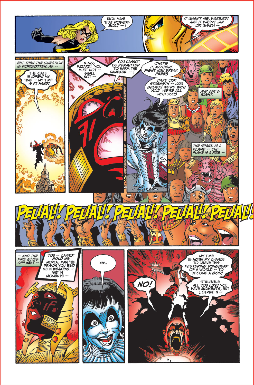 Read online Avengers (1998) comic -  Issue #30 - 19