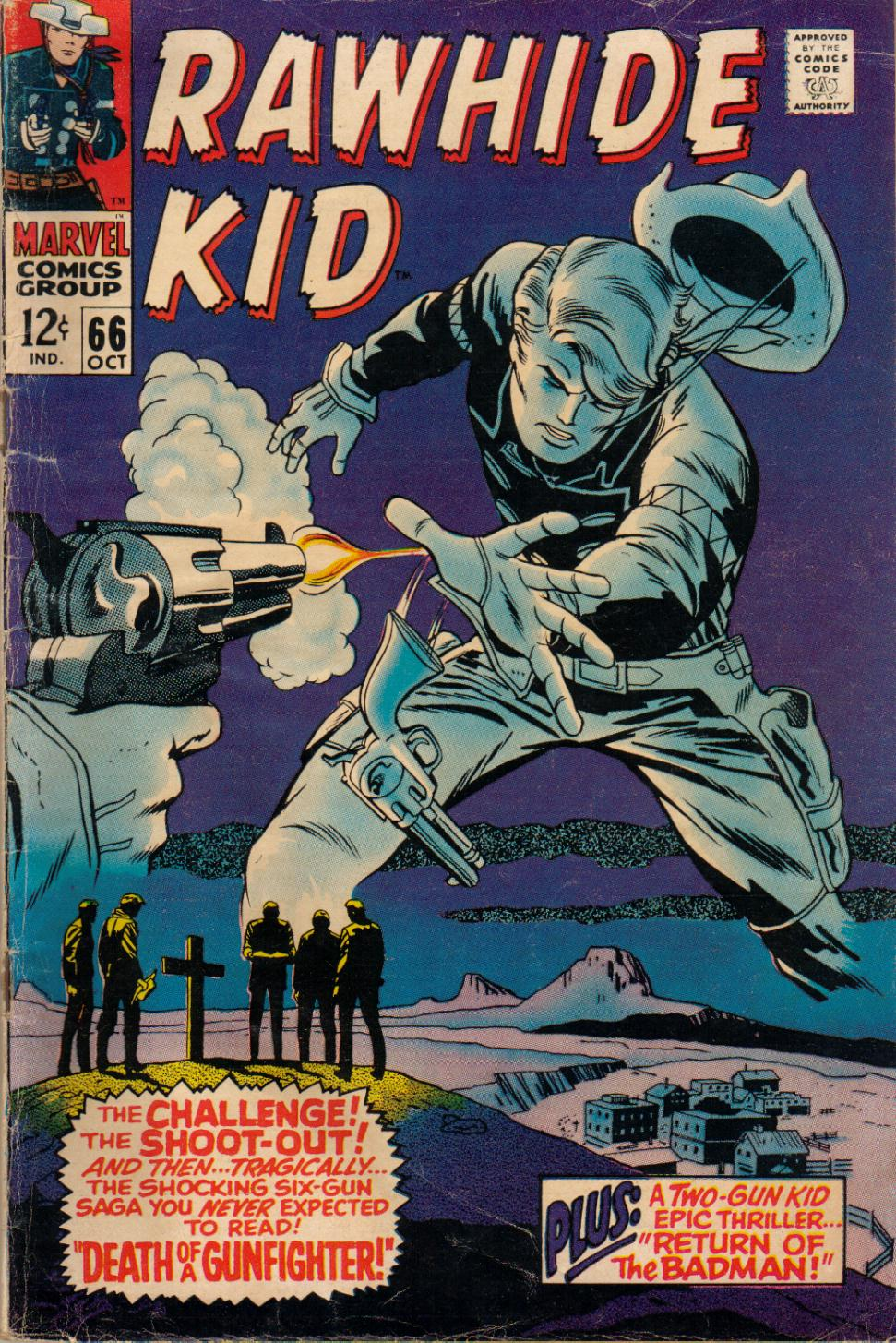 The Rawhide Kid (1955) issue 66 - Page 1