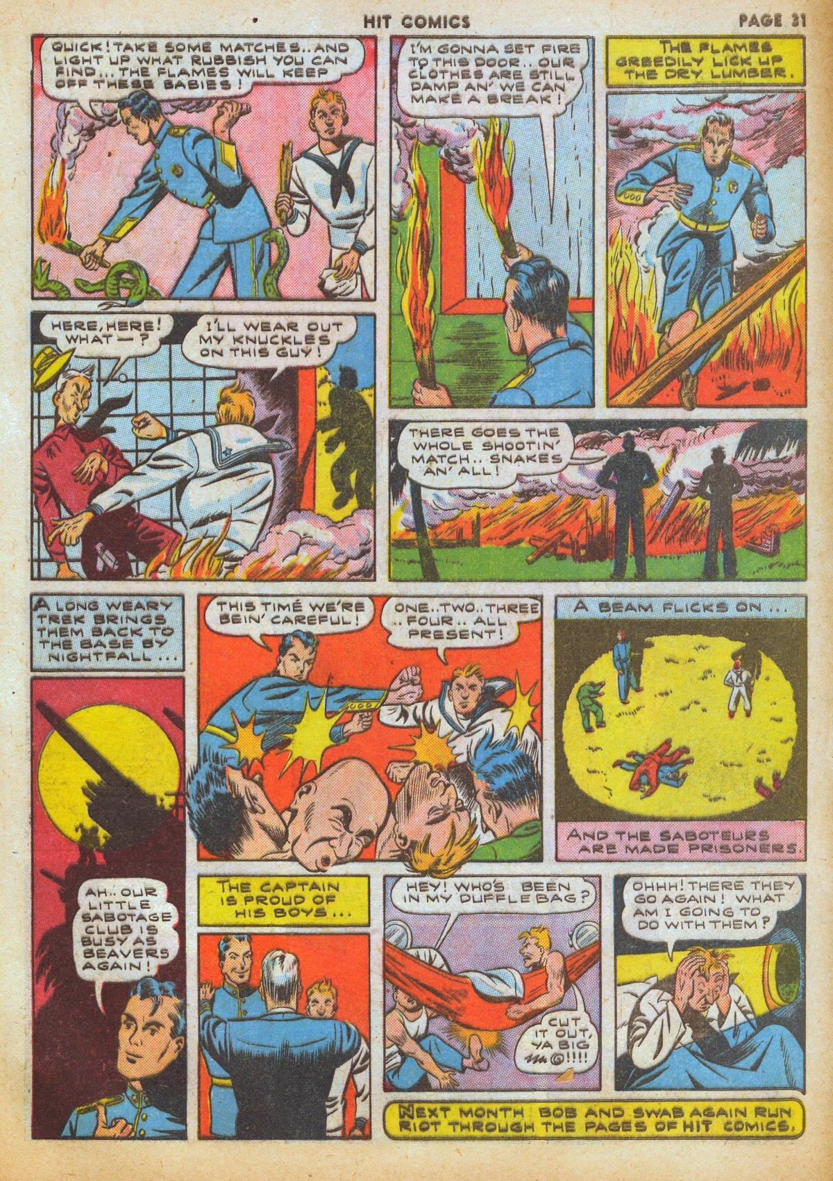 Read online Hit Comics comic -  Issue #12 - 33