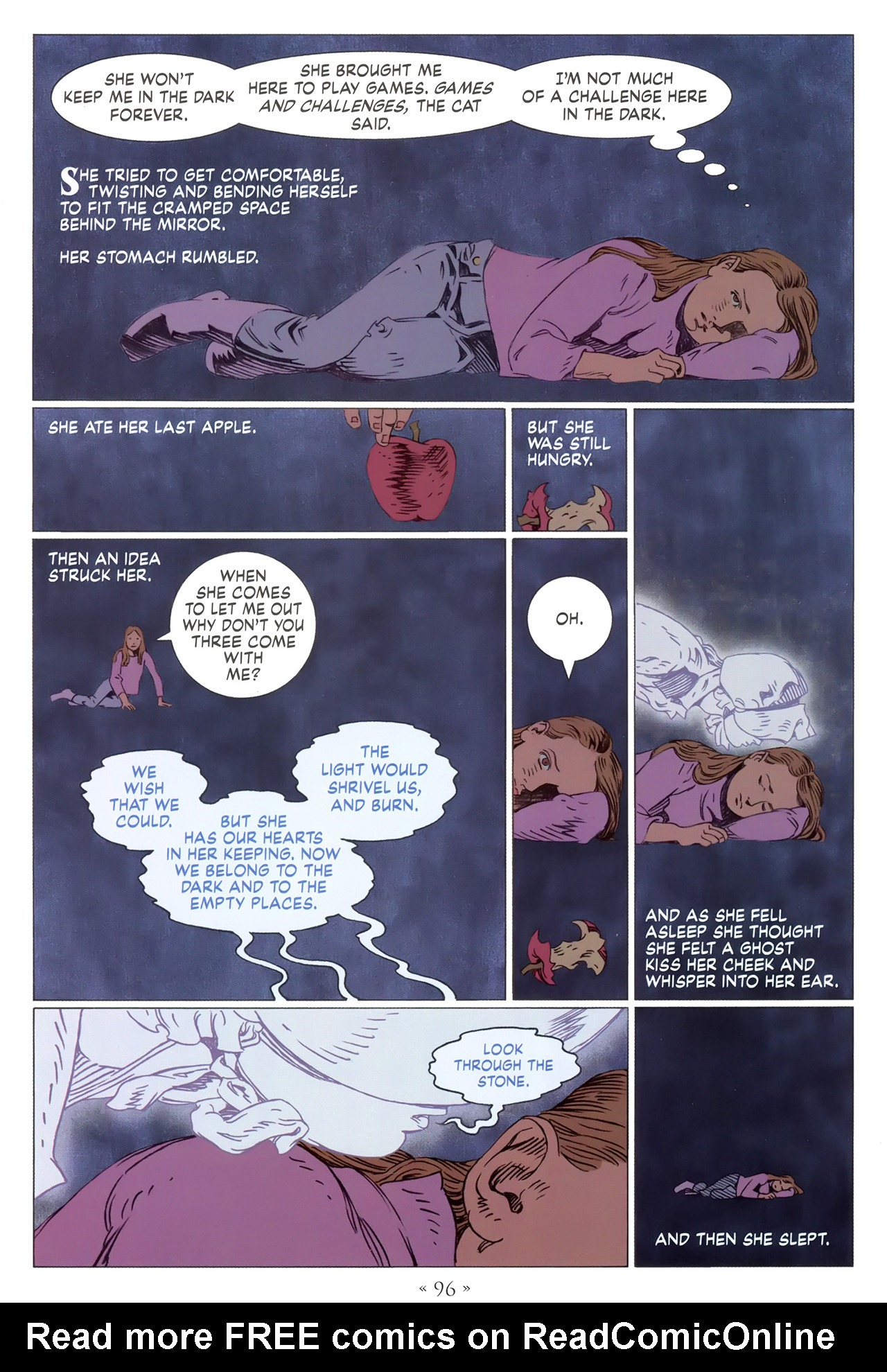 Read online Coraline comic -  Issue #1 - 102