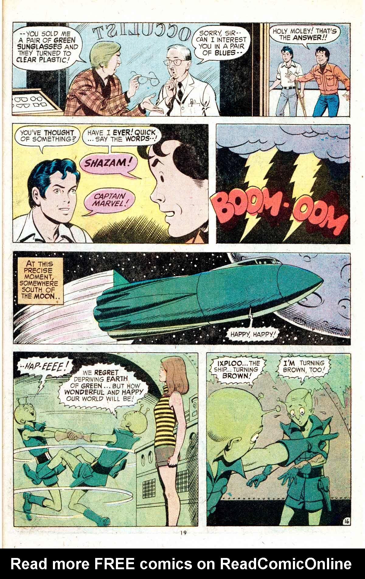 Read online Shazam! (1973) comic -  Issue #17 - 19