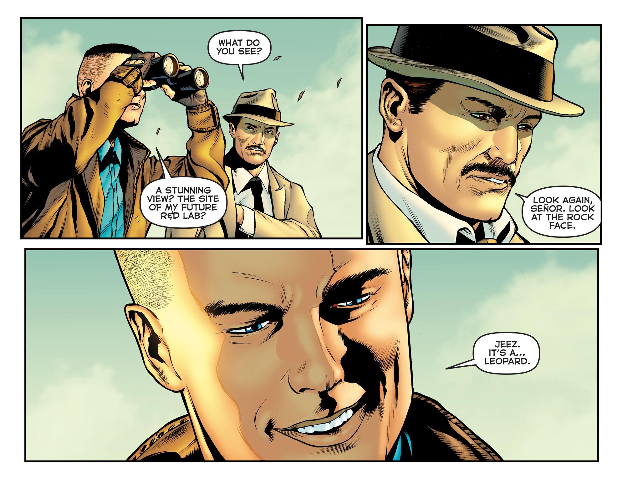 Read online Arrow: The Dark Archer comic -  Issue #11 - 15