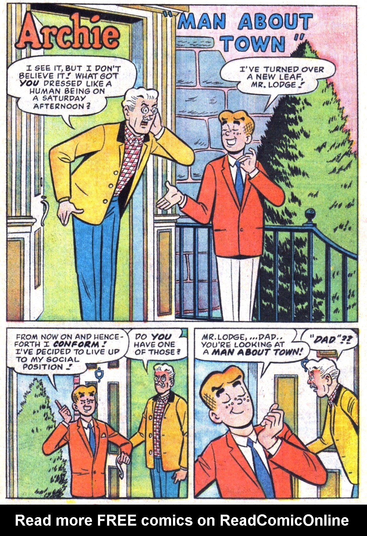 Read online Archie (1960) comic -  Issue #173 - 13