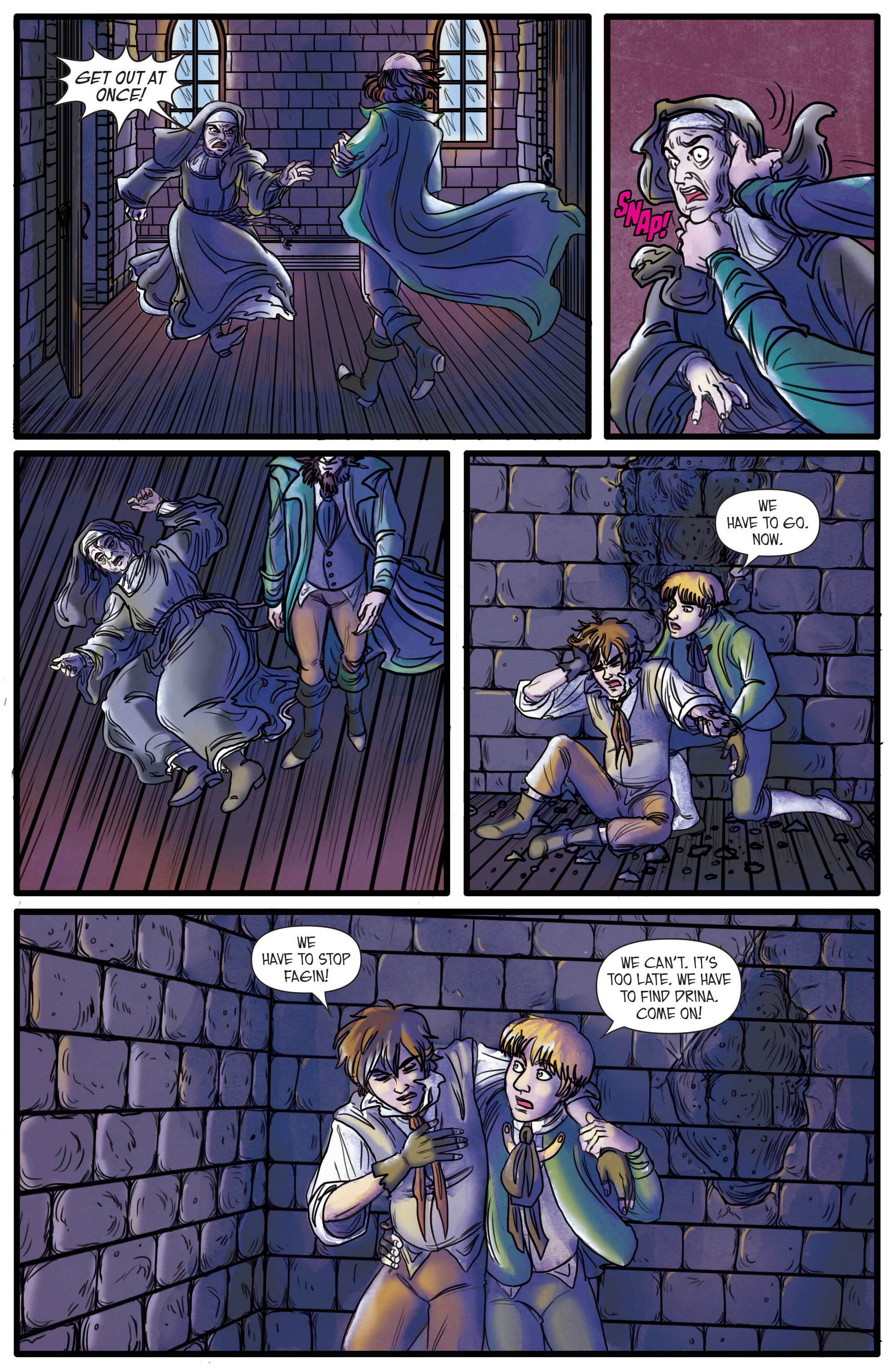 Read online Artful comic -  Issue #3 - 4