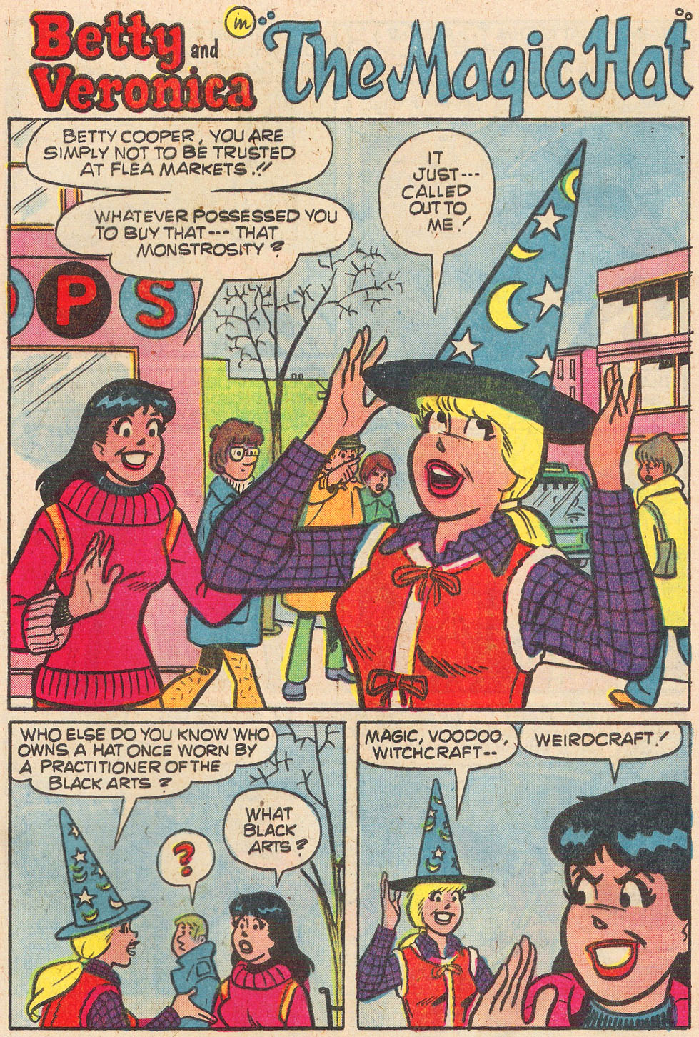 Read online Archie's Girls Betty and Veronica comic -  Issue #269 - 29