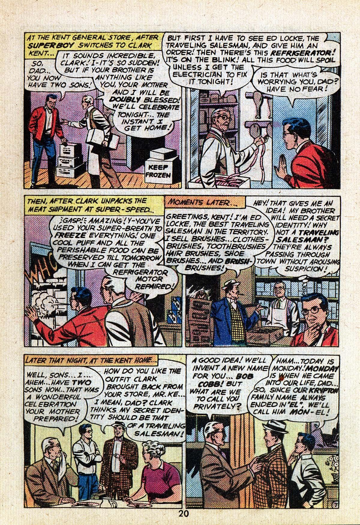 Read online Adventure Comics (1938) comic -  Issue #494 - 20