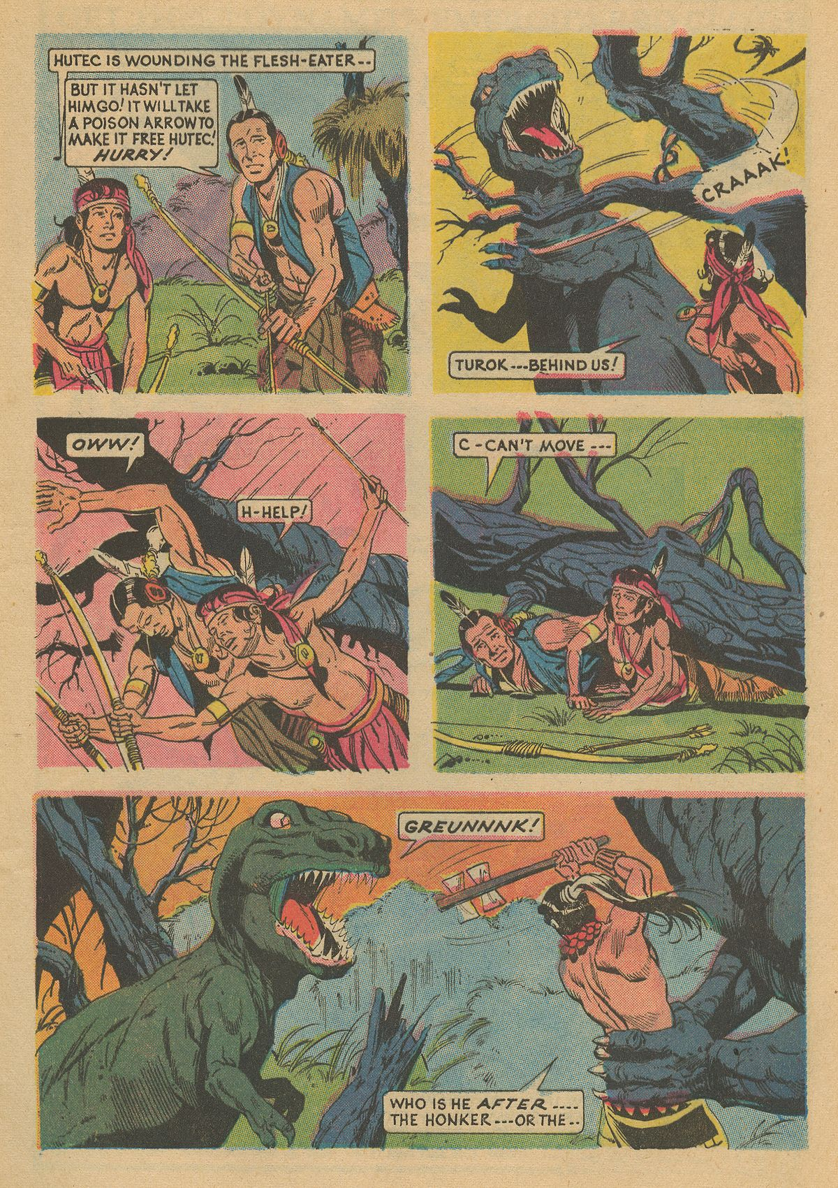 Read online Turok, Son of Stone comic -  Issue #86 - 5