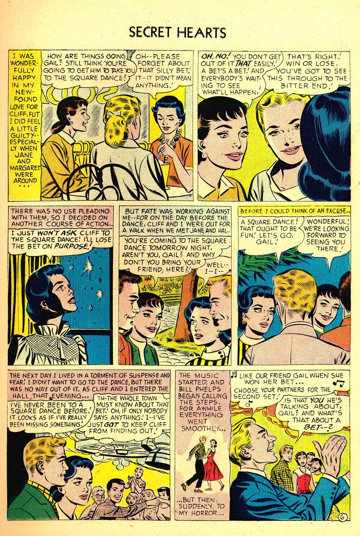 Read online Secret Hearts comic -  Issue #37 - 15