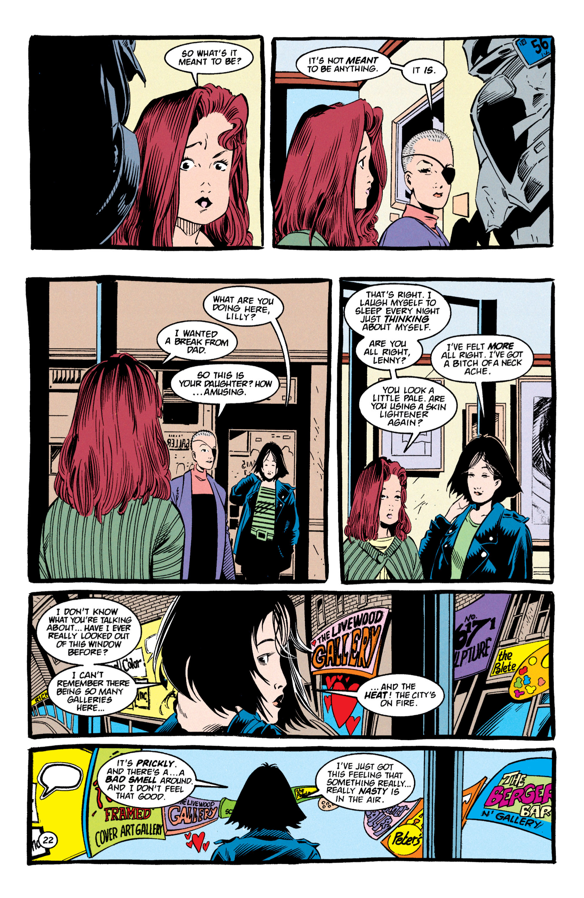 Read online Shade, the Changing Man comic -  Issue #59 - 23
