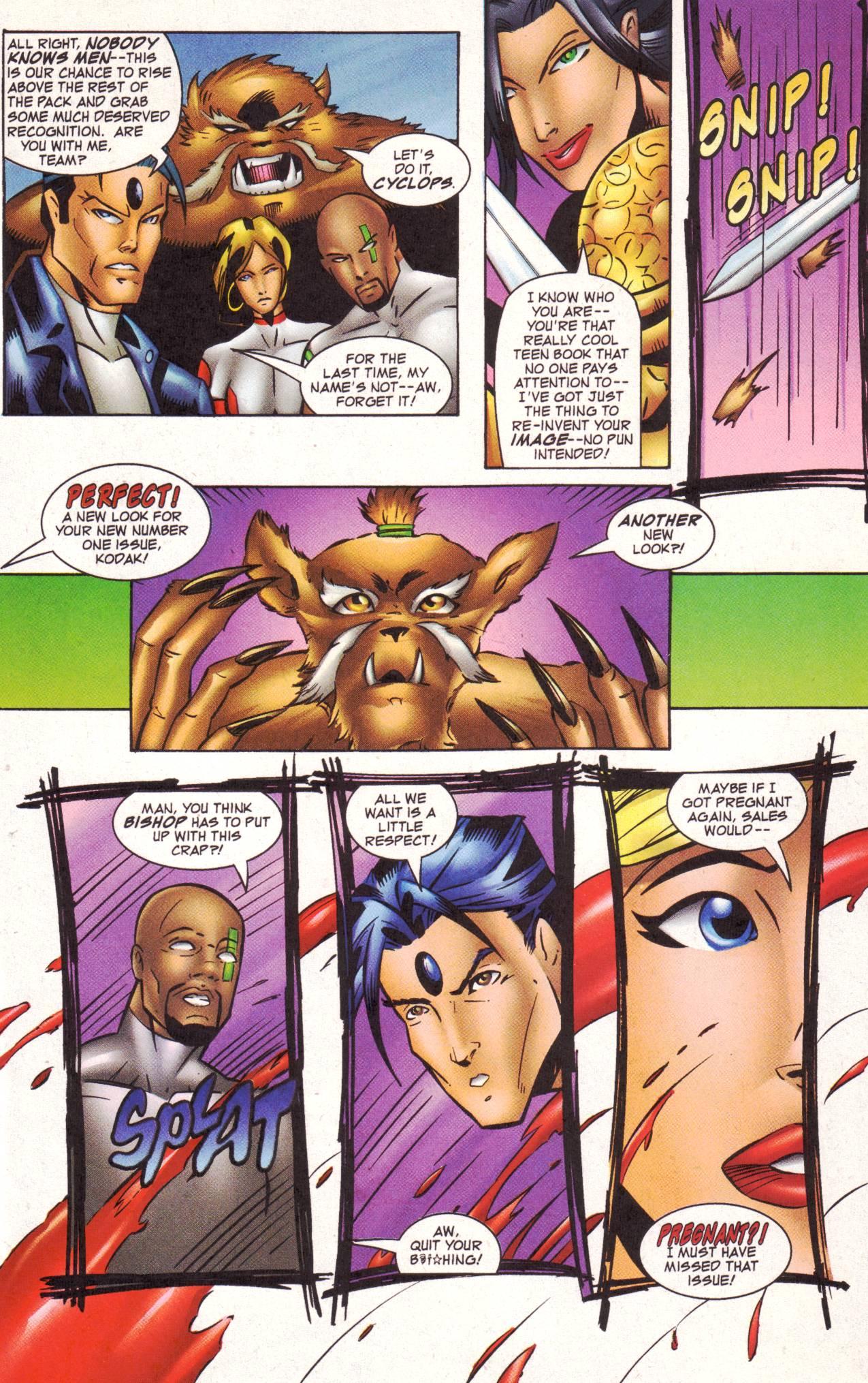 Read online Avengeblade comic -  Issue #2 - 17