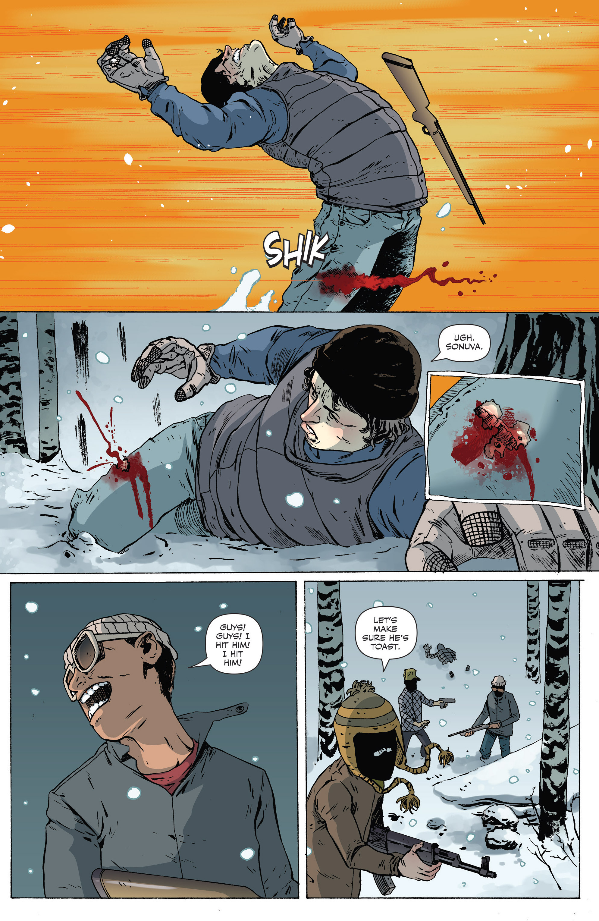 Read online Sheltered comic -  Issue #7 - 13