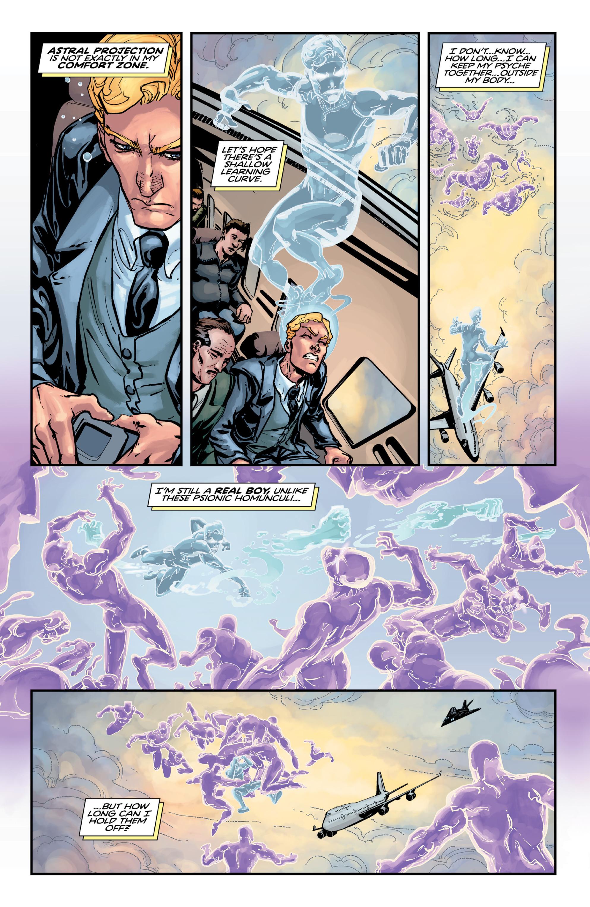 Read online Brain Boy:  The Men from G.E.S.T.A.L.T. comic -  Issue # TPB - 35