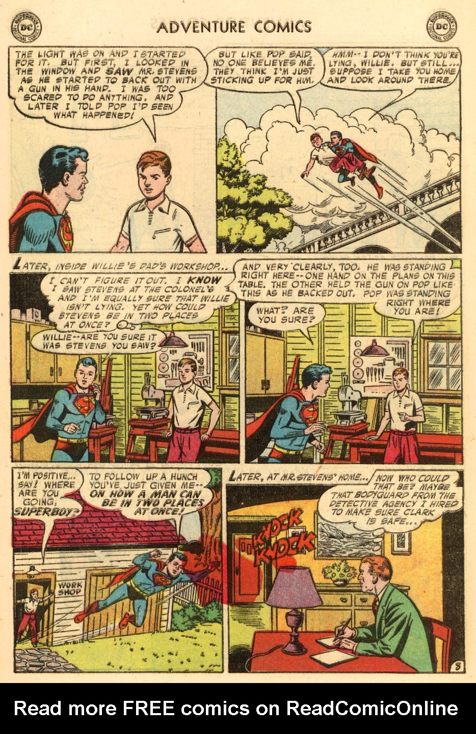 Read online Adventure Comics (1938) comic -  Issue #228 - 10