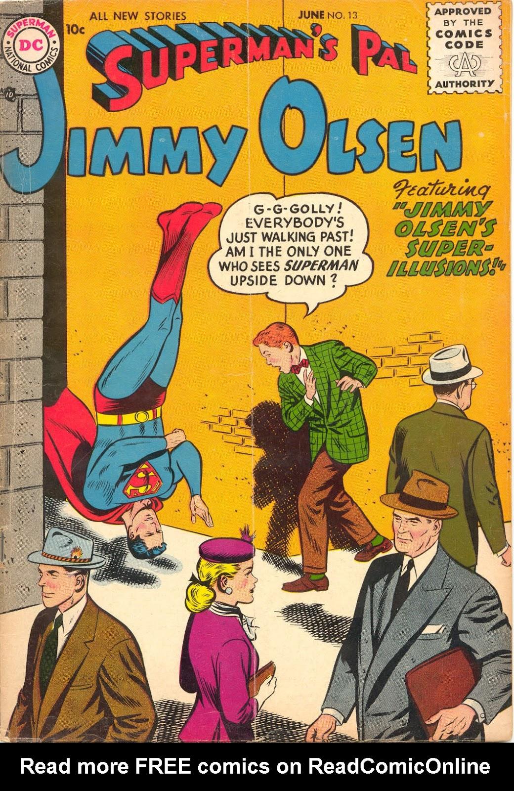 Supermans Pal Jimmy Olsen (1954) 13 Page 1