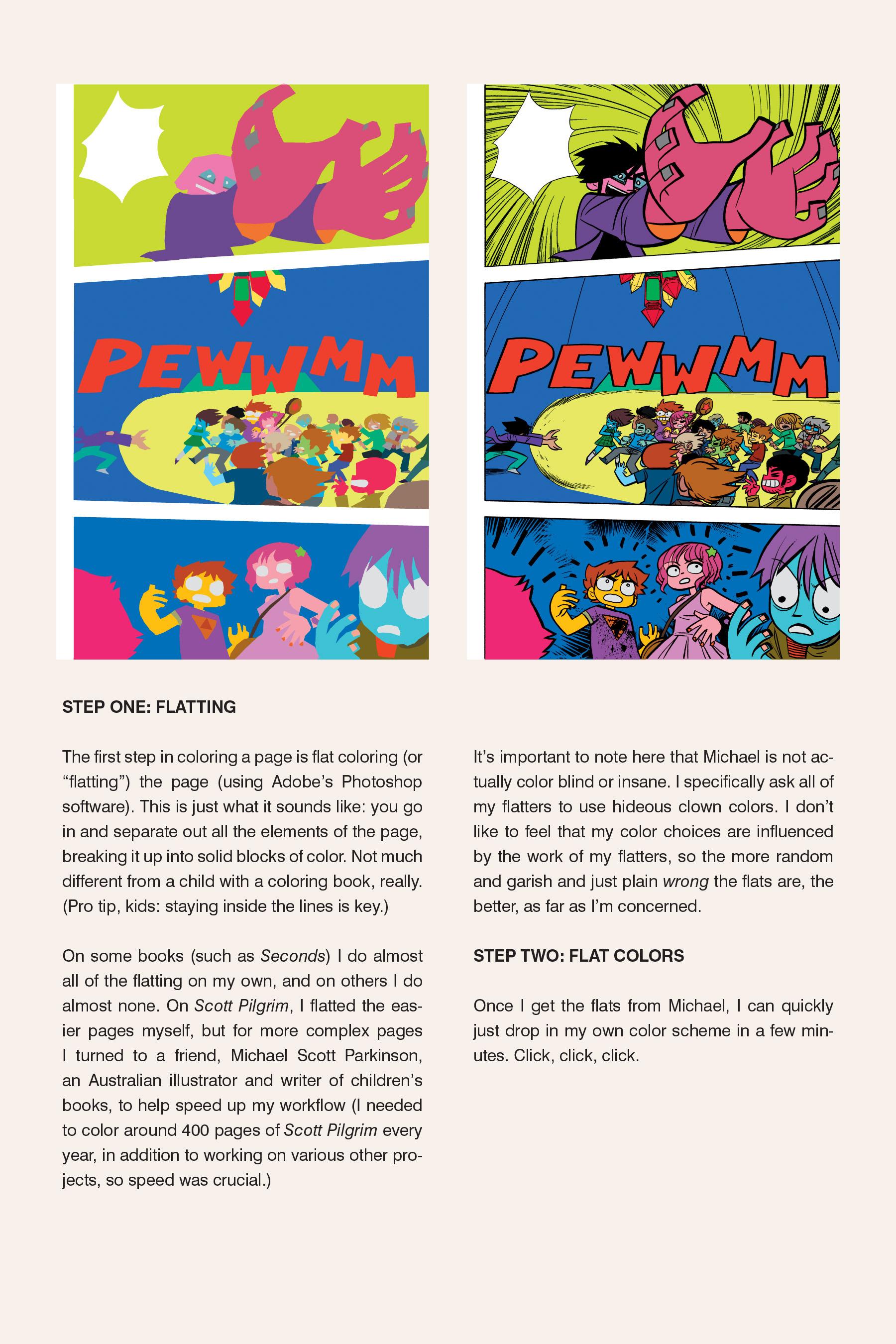 Read online Scott Pilgrim comic -  Issue #6 - 277
