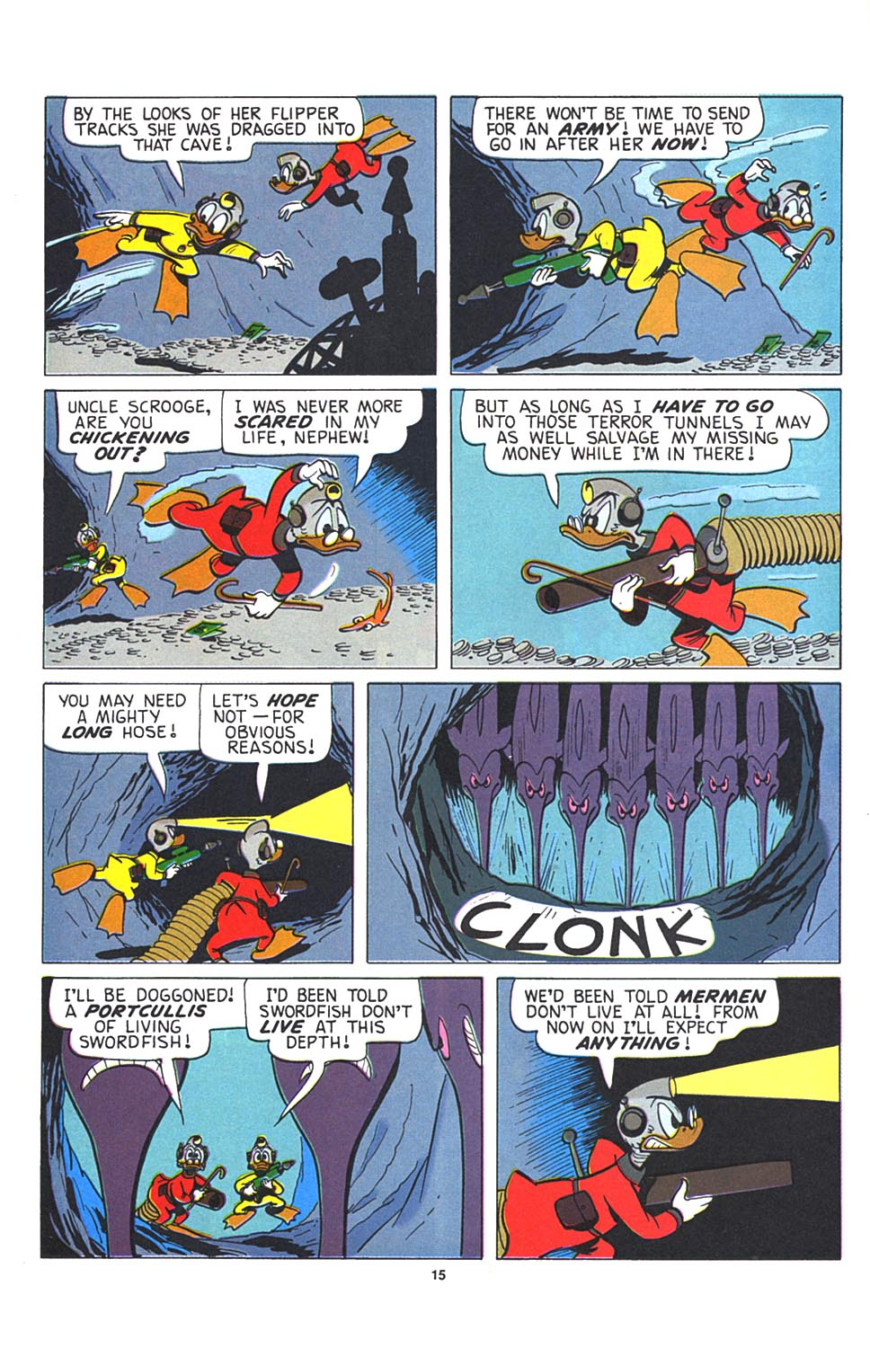 Read online Uncle Scrooge (1953) comic -  Issue #274 - 16