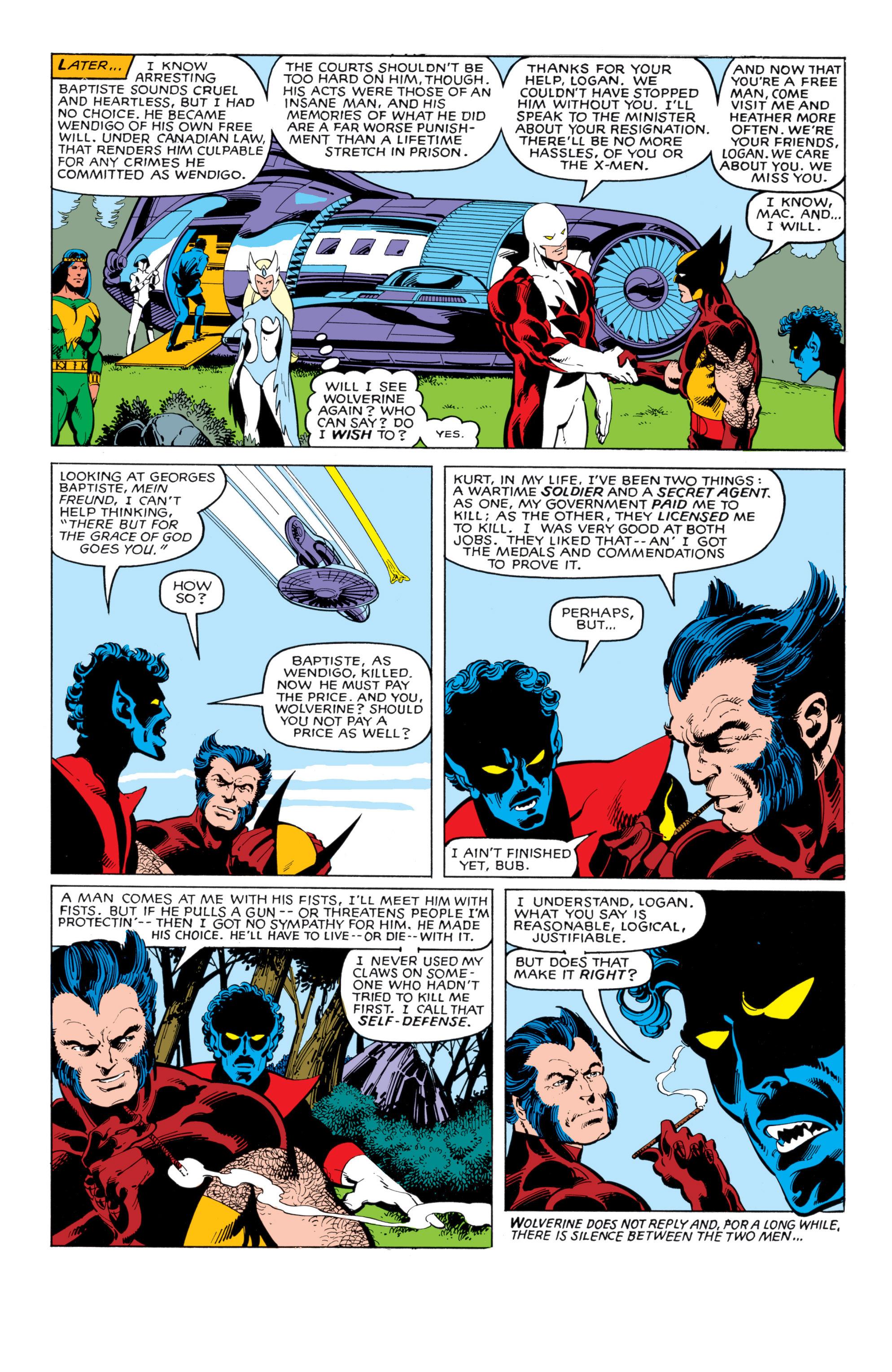 Read online Uncanny X-Men (1963) comic -  Issue #140 - 21
