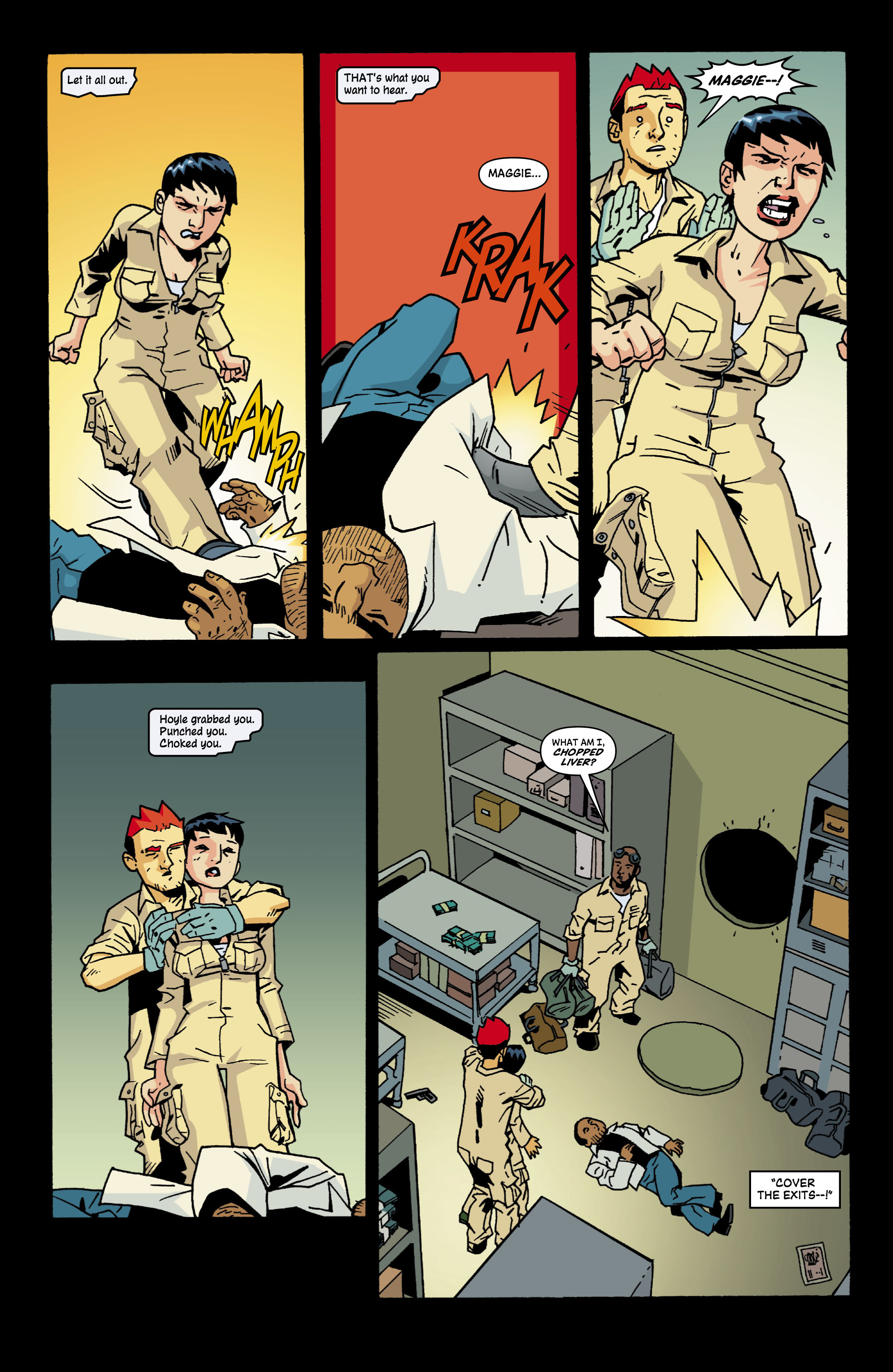 Read online Red Herring comic -  Issue #6 - 5