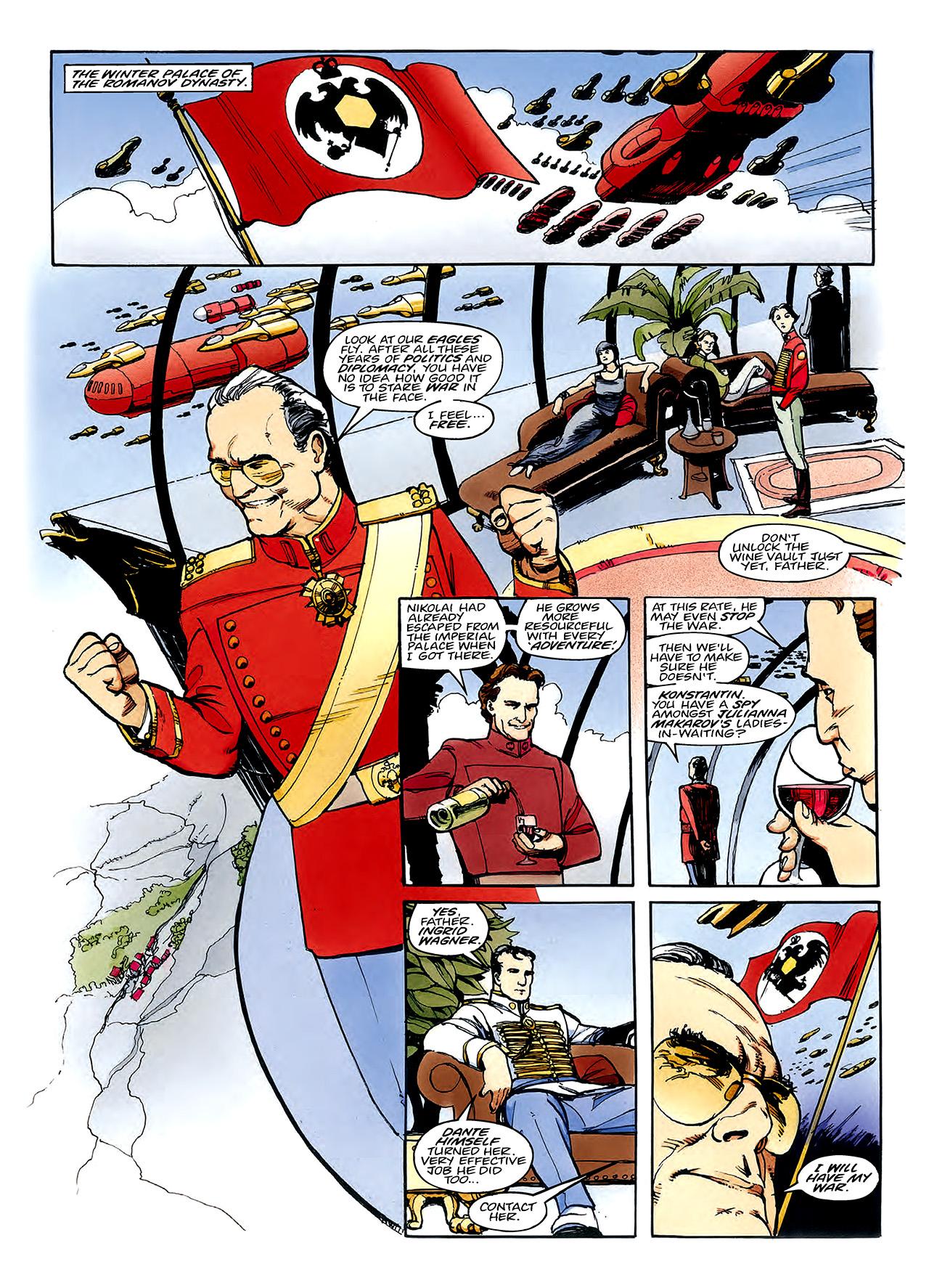 Read online Nikolai Dante comic -  Issue # TPB 3 - 102