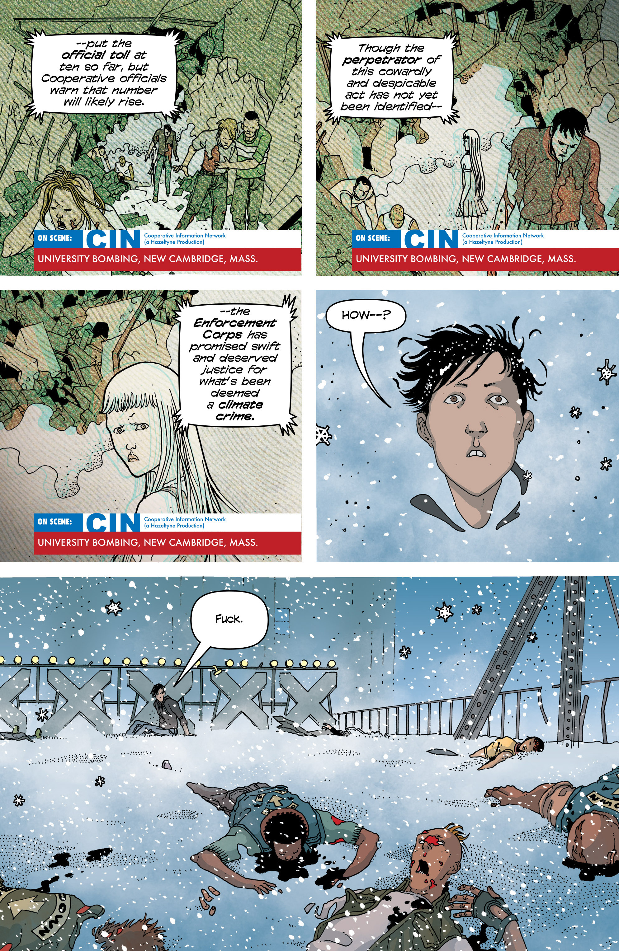 Read online Snowfall comic -  Issue #6 - 7
