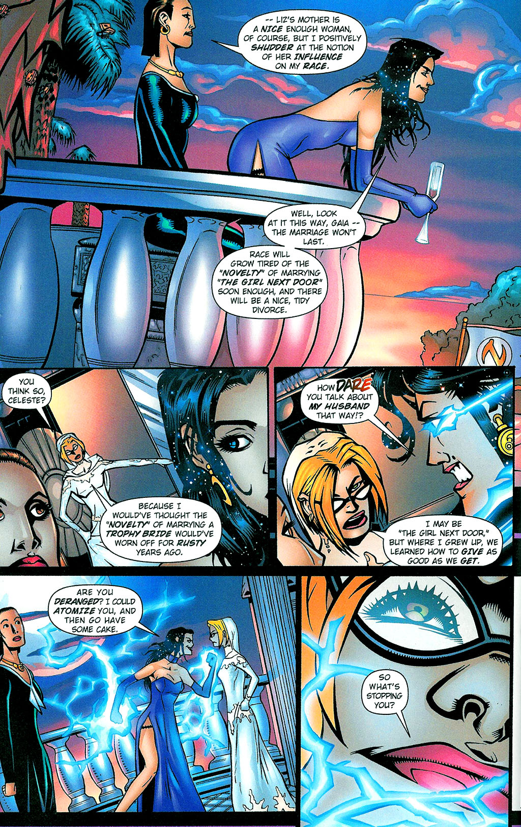 Read online Noble Causes (2002) comic -  Issue #1 - 14