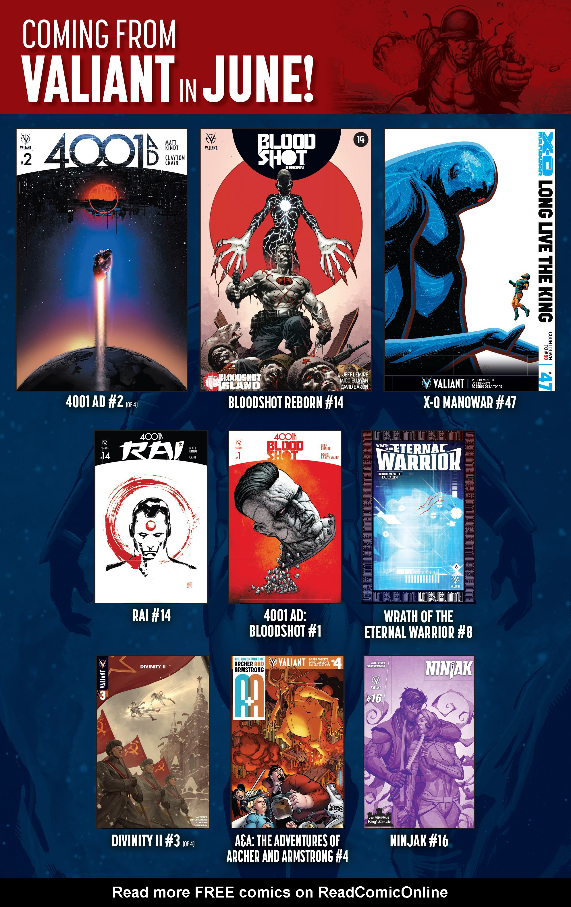 Read online 4001 A.D. comic -  Issue #1 - 40