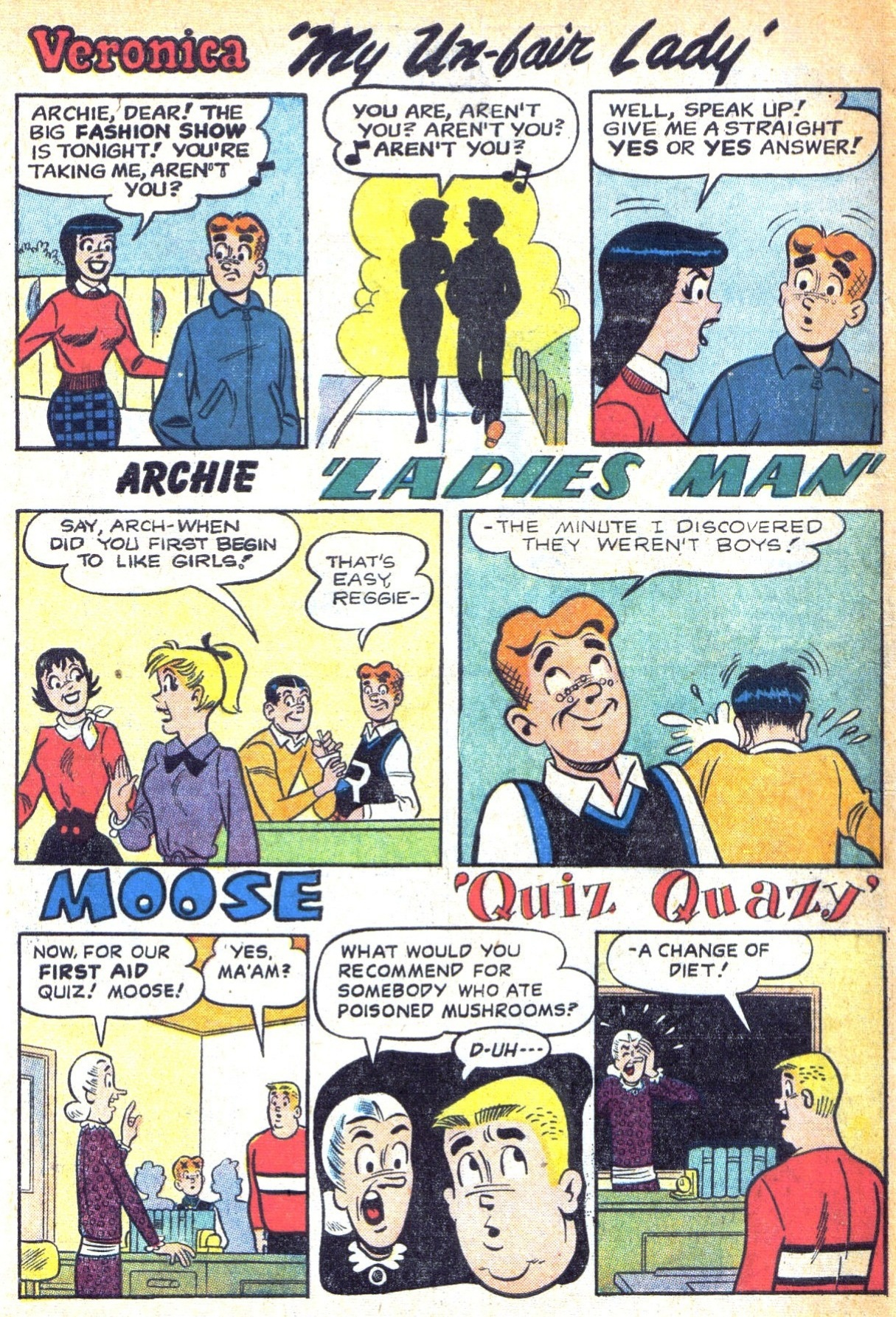 Read online Archie (1960) comic -  Issue #129 - 10